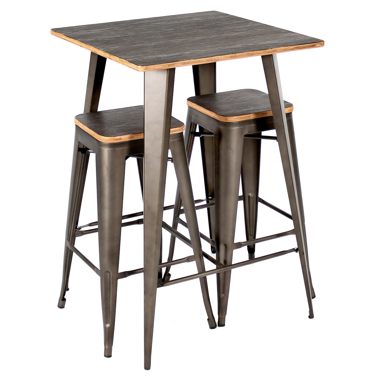 Claremont Dining Table Set LeisureGrow Claremont 90cm Round Folding