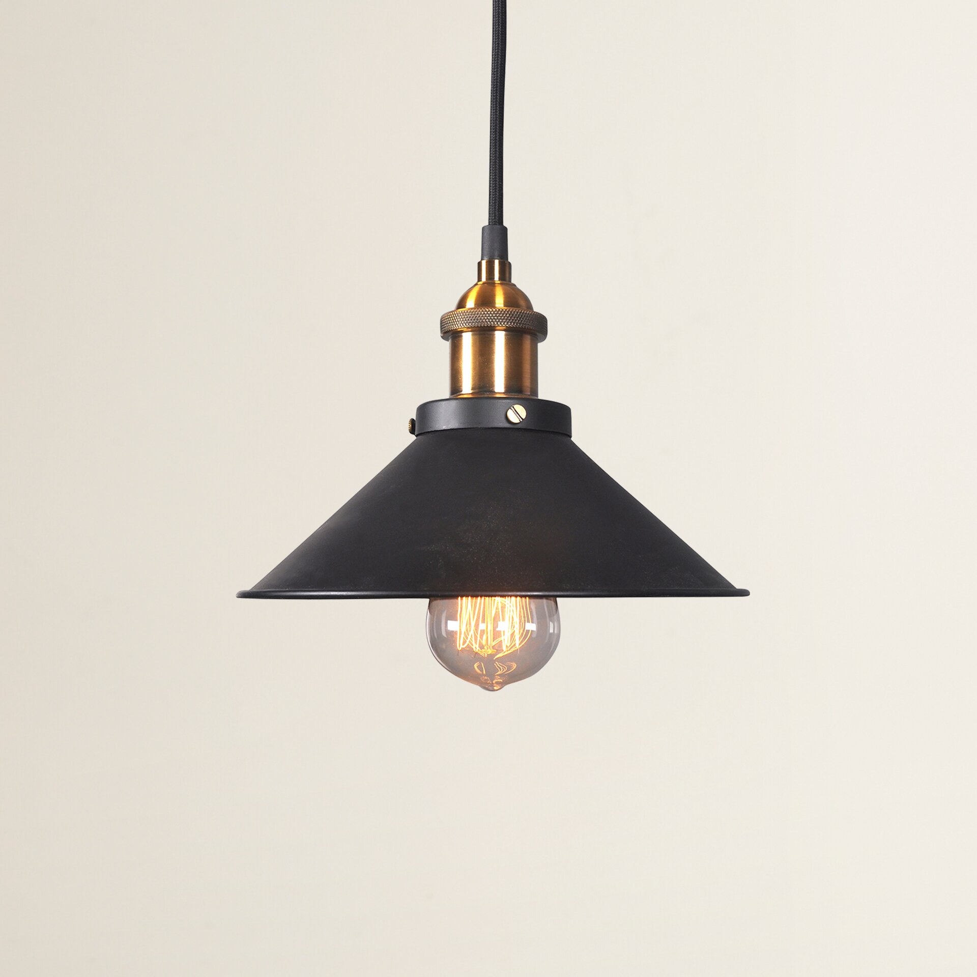 Trent Austin Design Gilroy 1 Light Bowl Pendant & Reviews