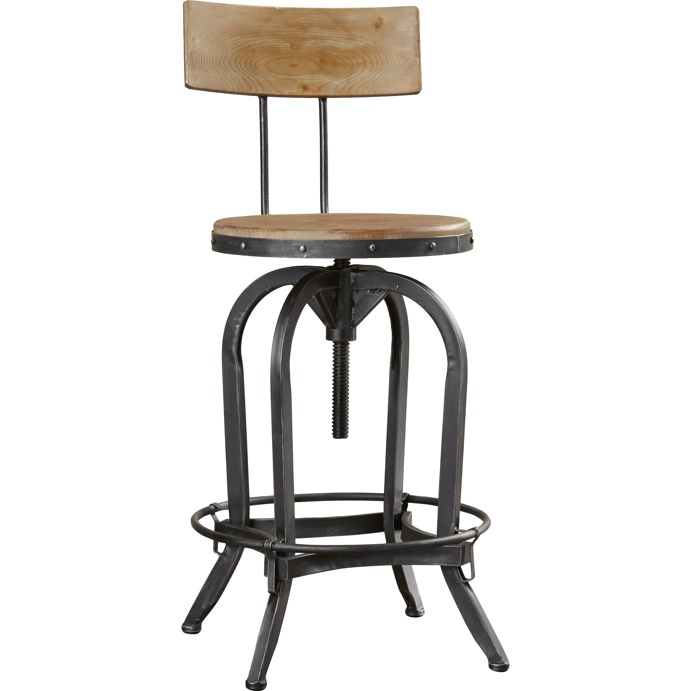 Trent Austin Design Oria Adjustable Height Swivel Bar  : Trent Austin Design Oria Adjustable Height Swivel Bar Stool TADN4183 from www.wayfair.com size 2275 x 2275 jpeg 316kB