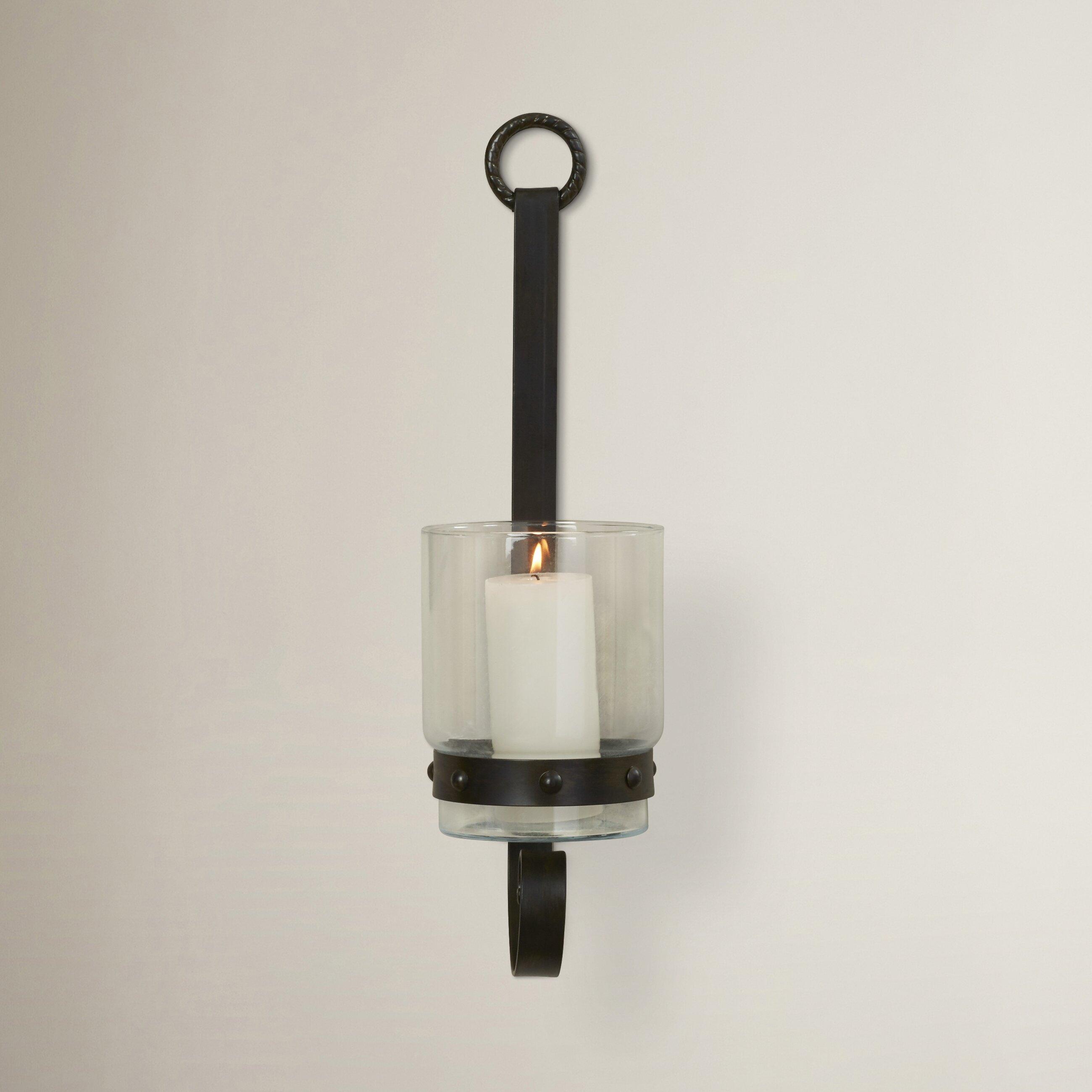 Wayfair Brass Wall Sconces : Trent Austin Design Glass/Metal Sconce & Reviews Wayfair