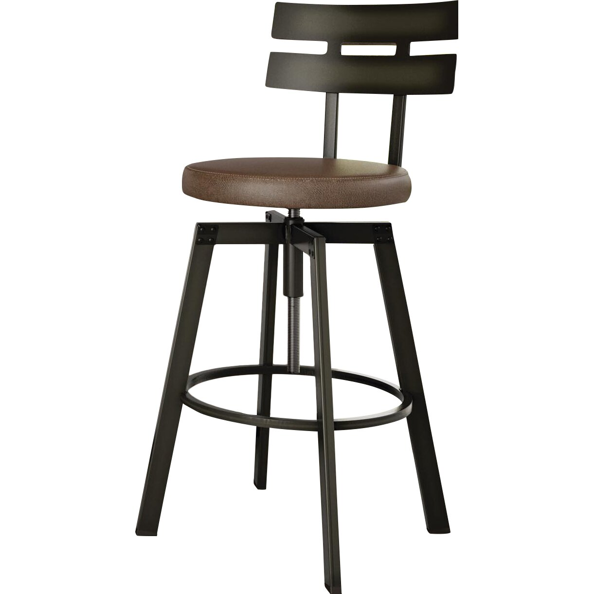 Trent Austin Design Berrycone Adjustable Height Bar Stool  : Berrycone 3125 Bar Stool with Cushion TADN3364 from www.wayfair.com size 1221 x 1221 jpeg 93kB