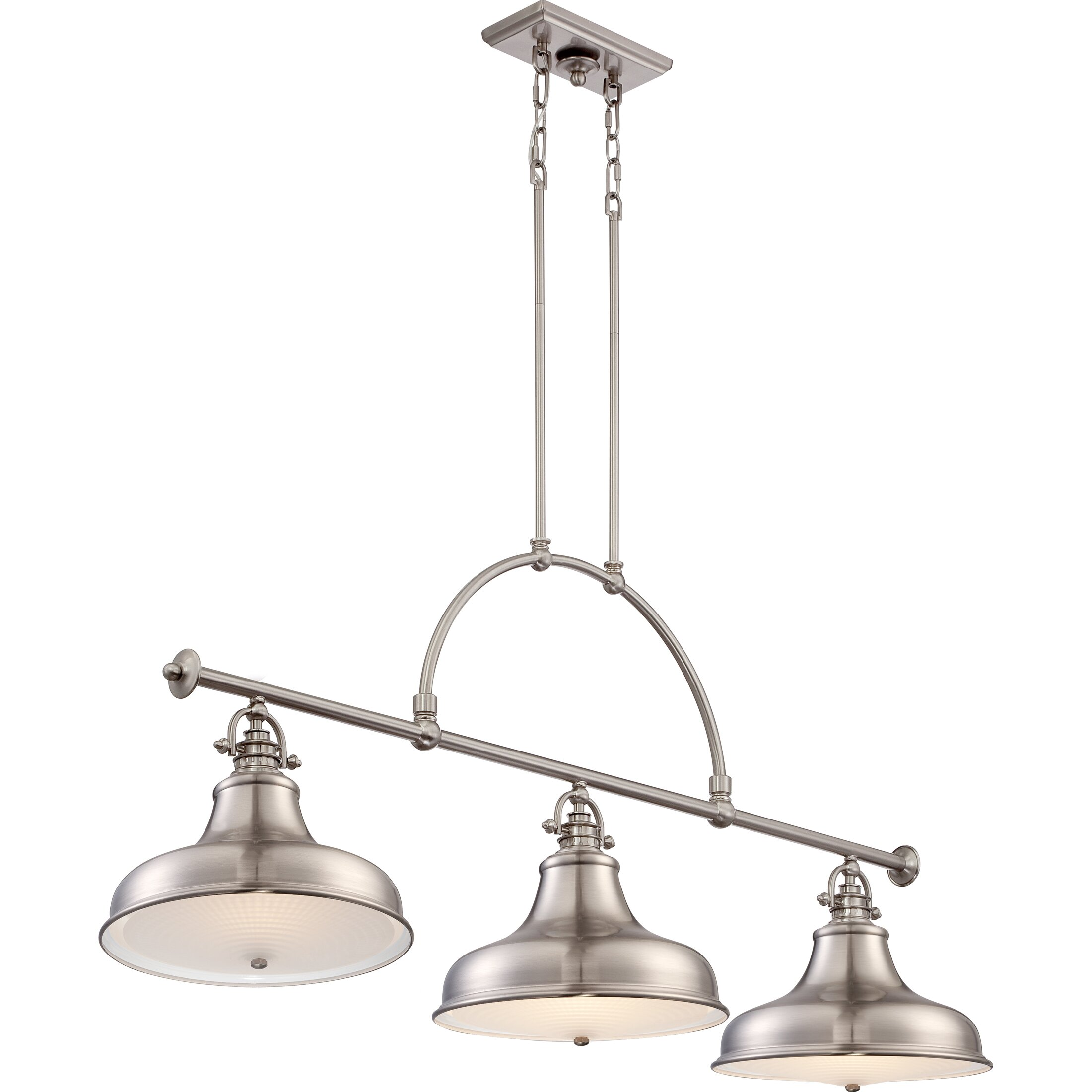 Trent austin design cetona 3 light kitchen island pendant for Kitchen island lighting pendants