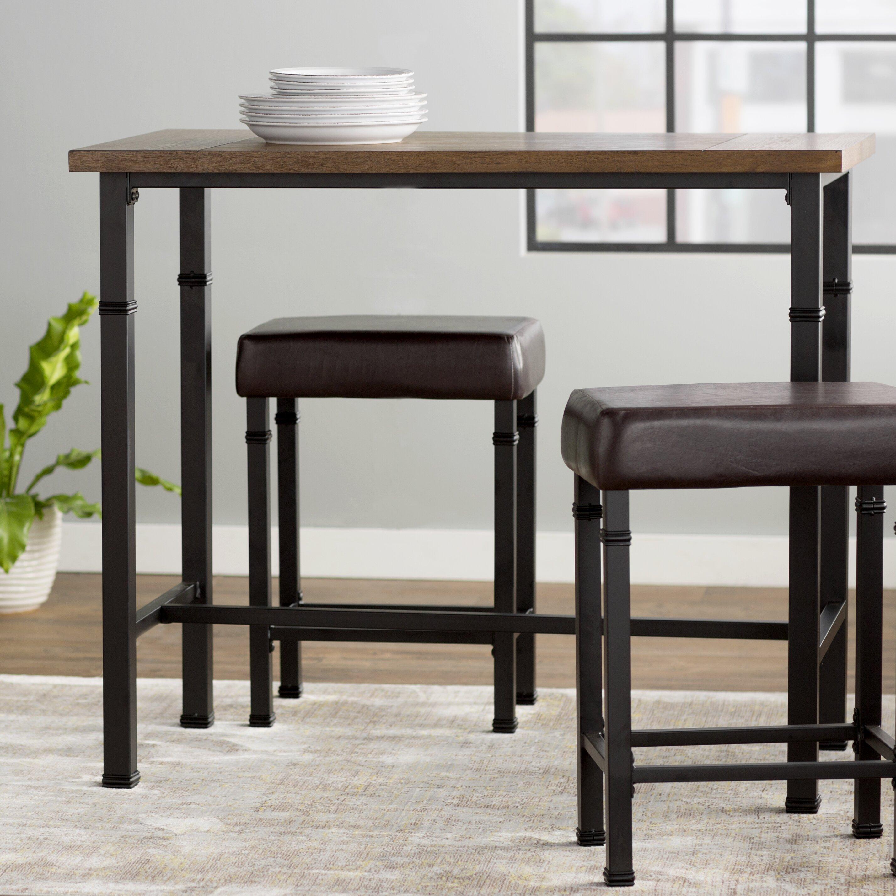 Trent Austin Design Billancourt 3 Piece Pub Table Set
