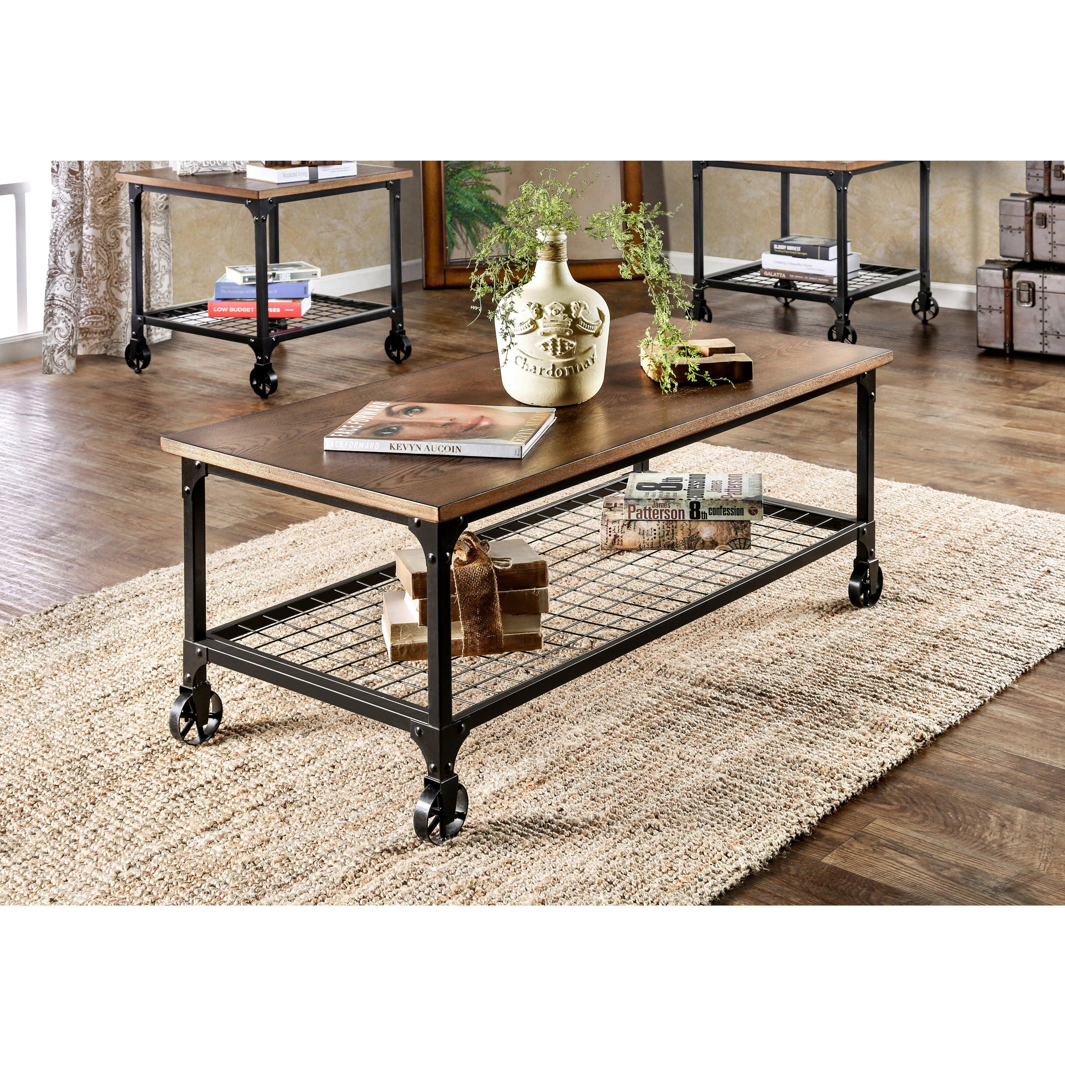 Trent Austin Design Nederland 3 Piece Coffee Table Set Wayfair