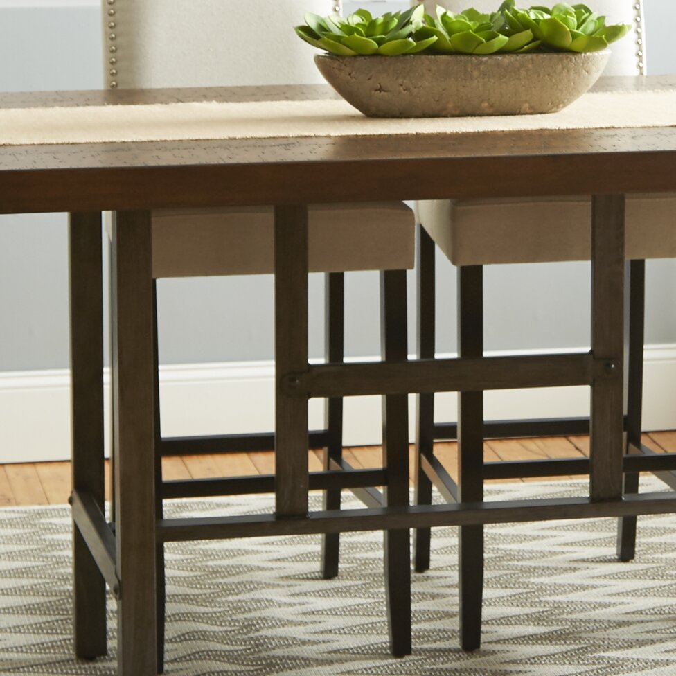 trent austin design broadview room counter dining table reviews - Dining Room Tables Austin