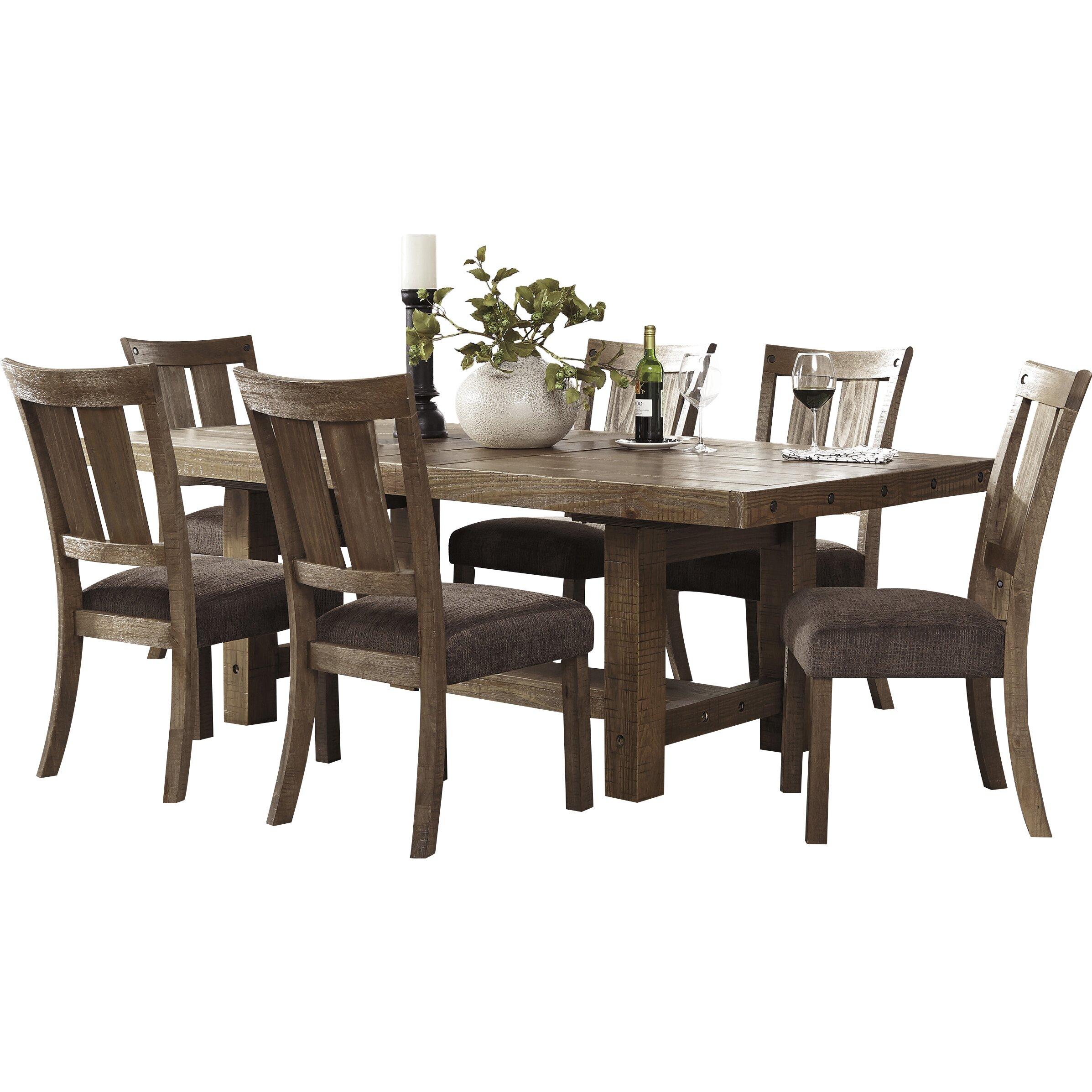 Trent austin design butterfield counter height extendable for Counter height extendable dining table
