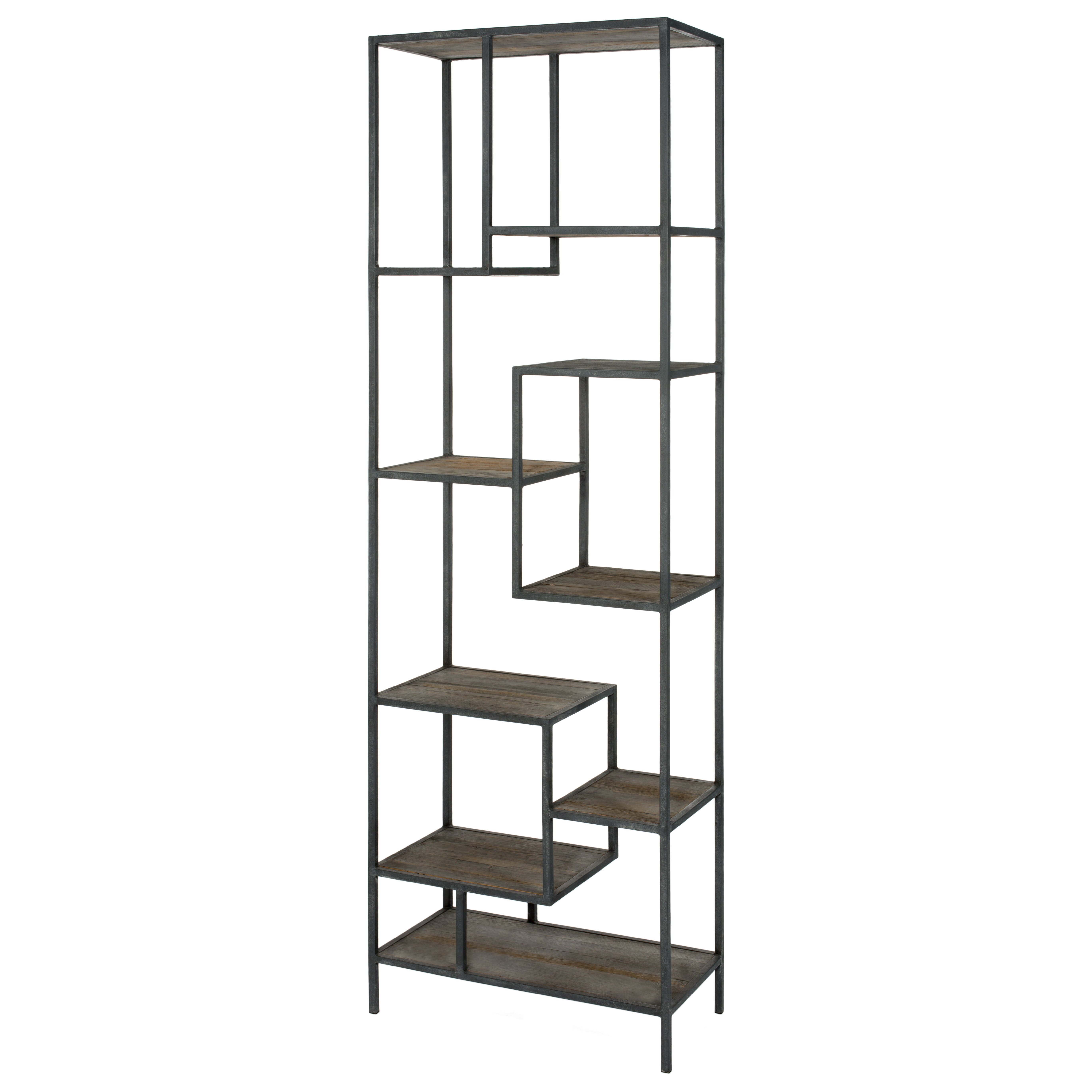 trent austin design elliston 102 etagere bookcase wayfair. Black Bedroom Furniture Sets. Home Design Ideas