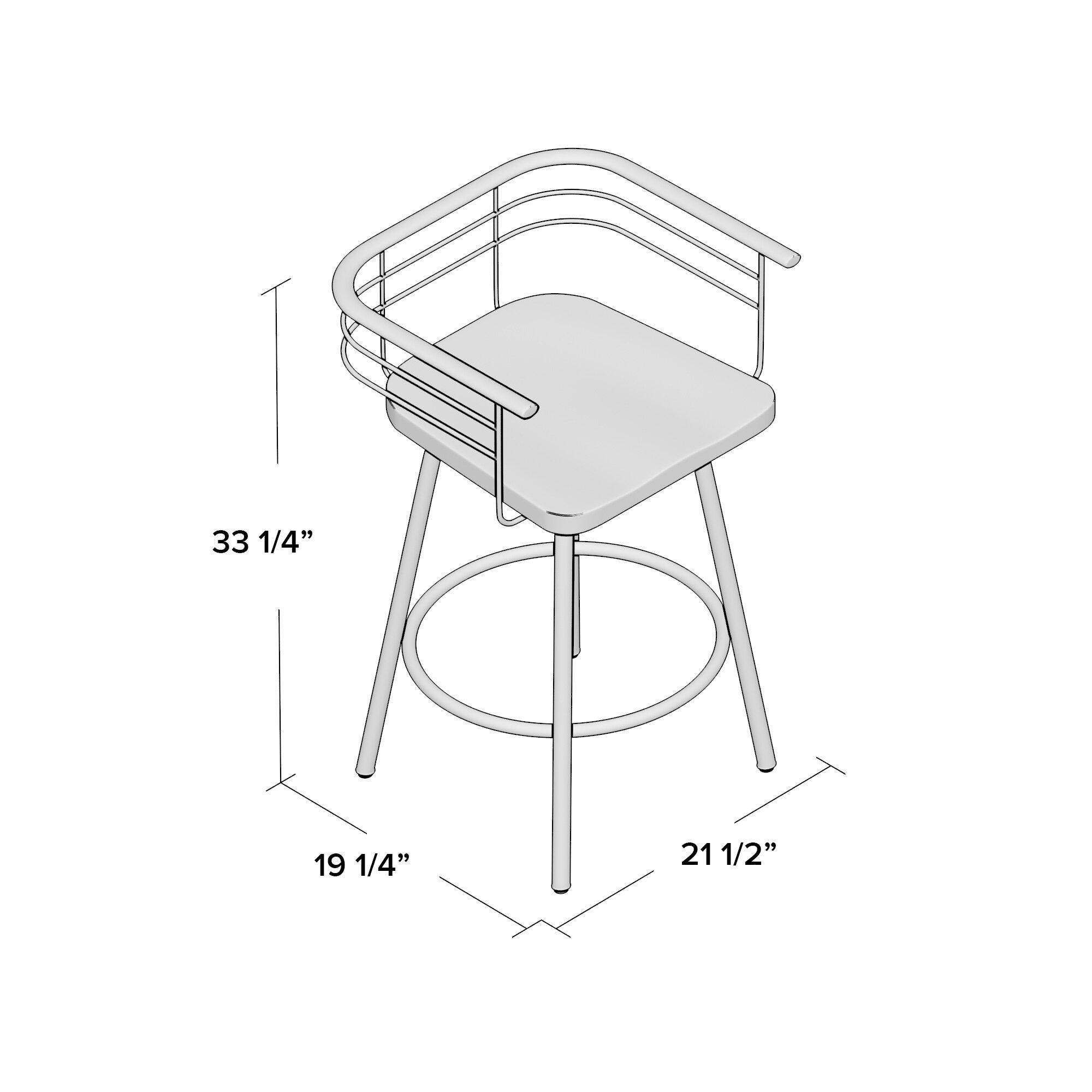 Trent Austin Design Tungsten 26 Quot Swivel Bar Stool