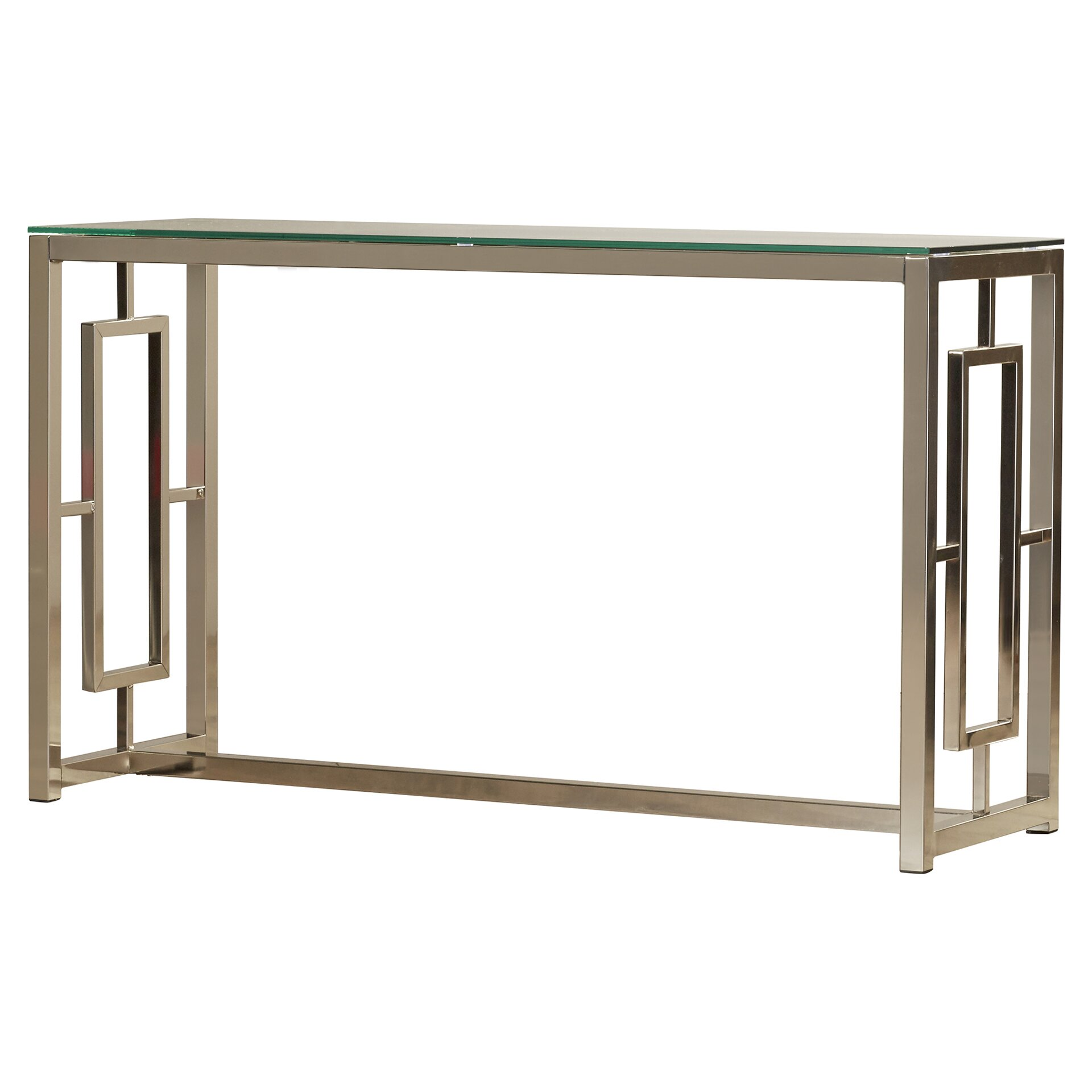 House of hampton swanson console table reviews wayfair for 6ft sofa table