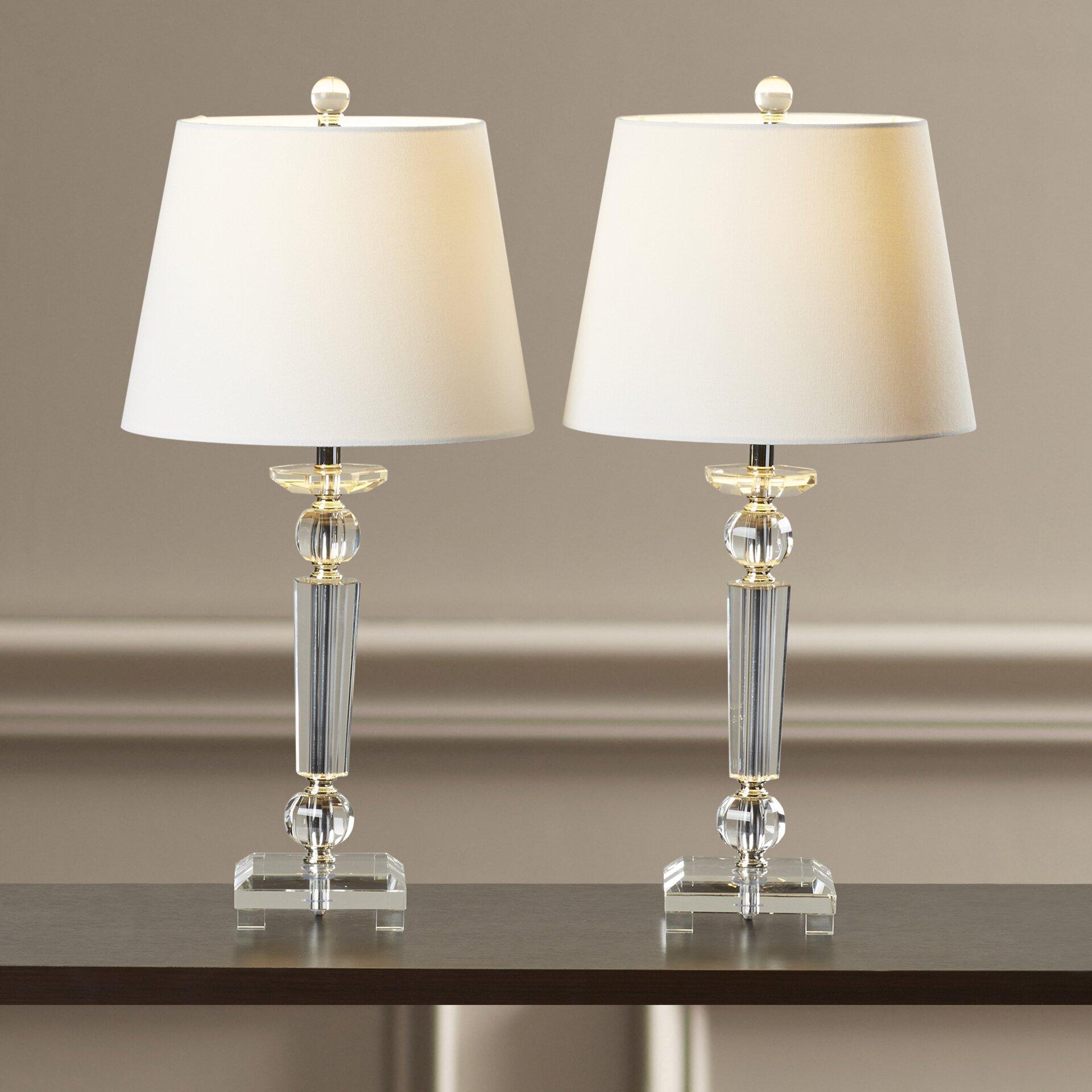 house of hampton marlin 23 table lamps set of 2. Black Bedroom Furniture Sets. Home Design Ideas