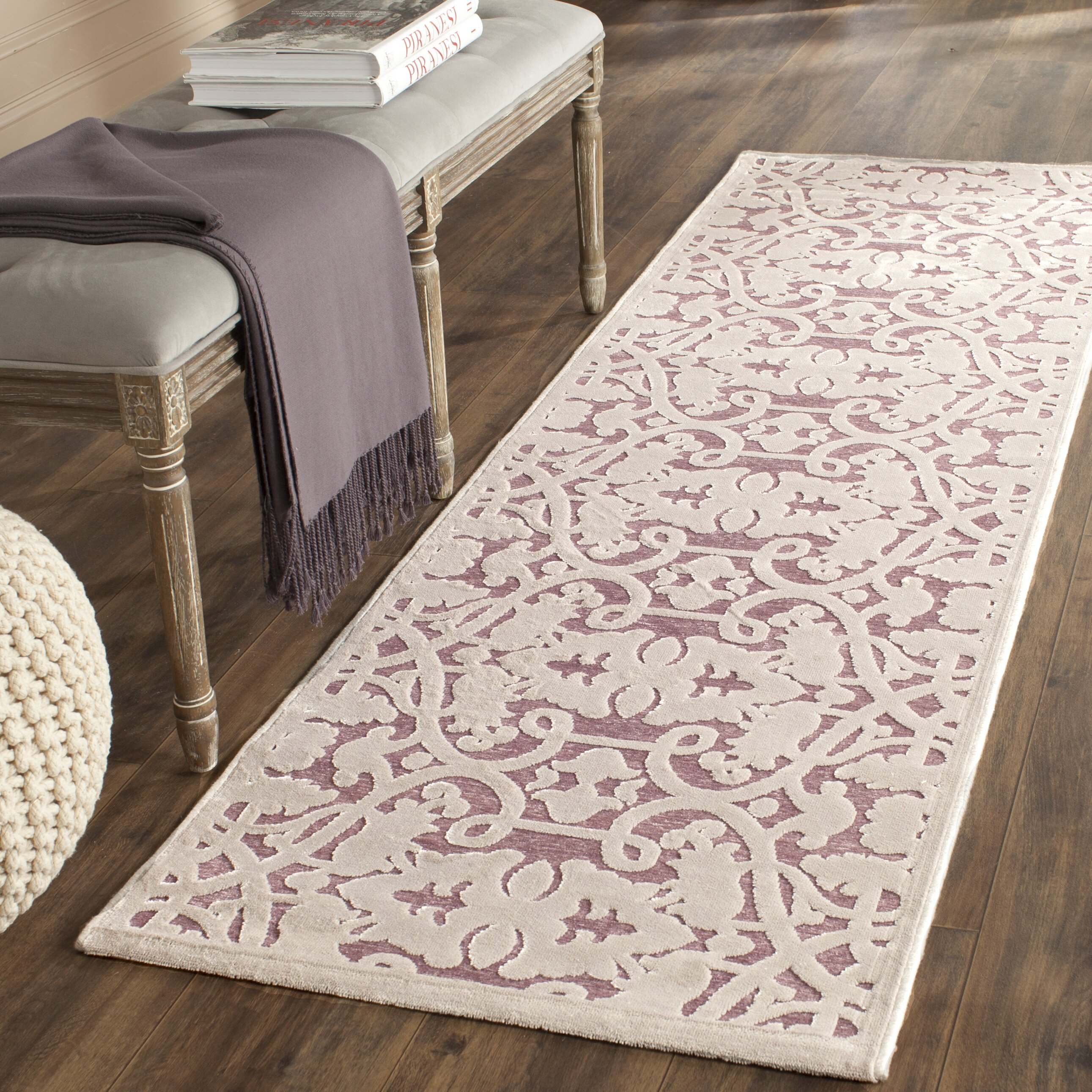 House Of Hampton Mauve Violet Area Rug Amp Reviews Wayfair