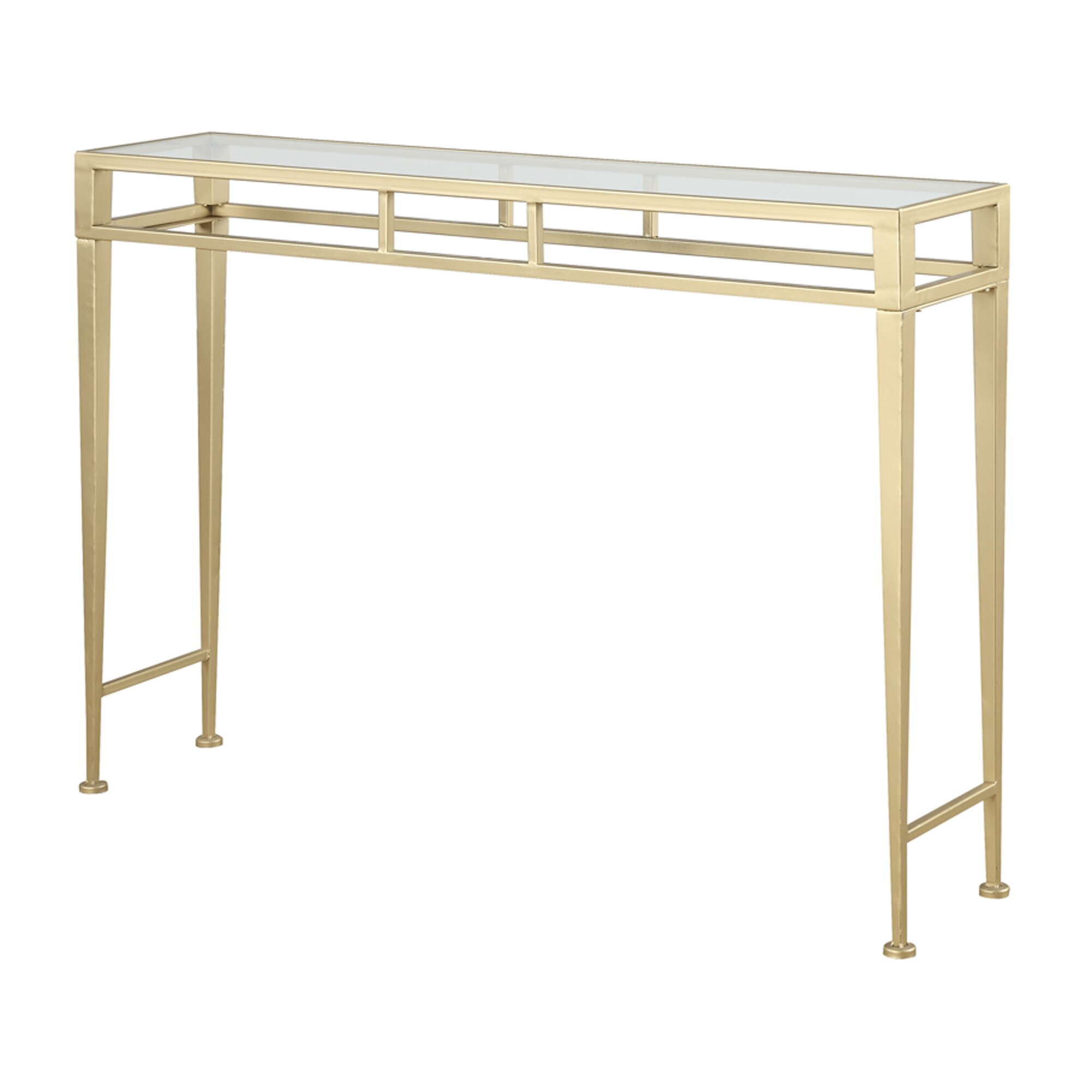 Buy Coffee Table Gold Coast: House Of Hampton Console Table & Reviews
