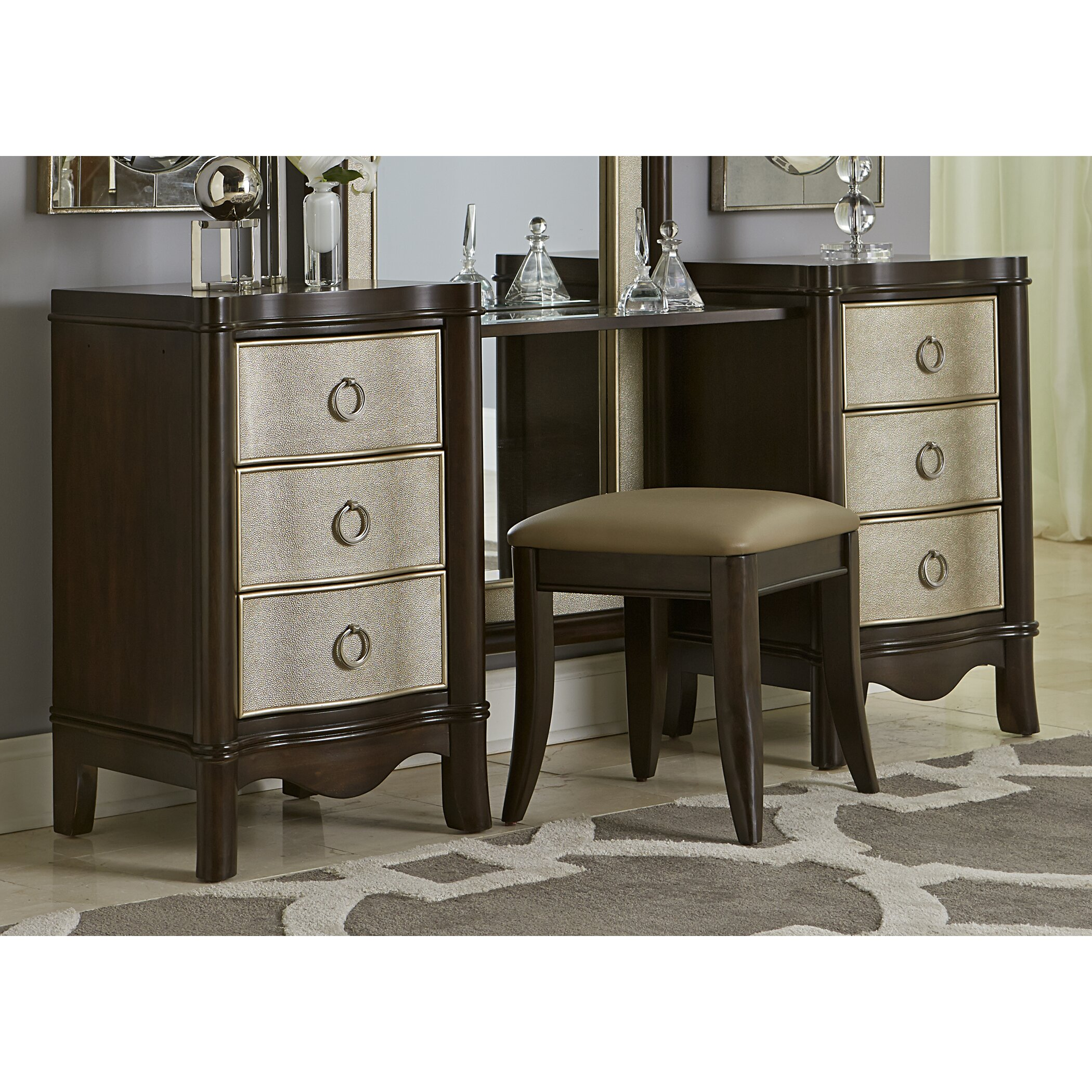House Of Hampton Hoyt Vanity Drawer Unit & Reviews
