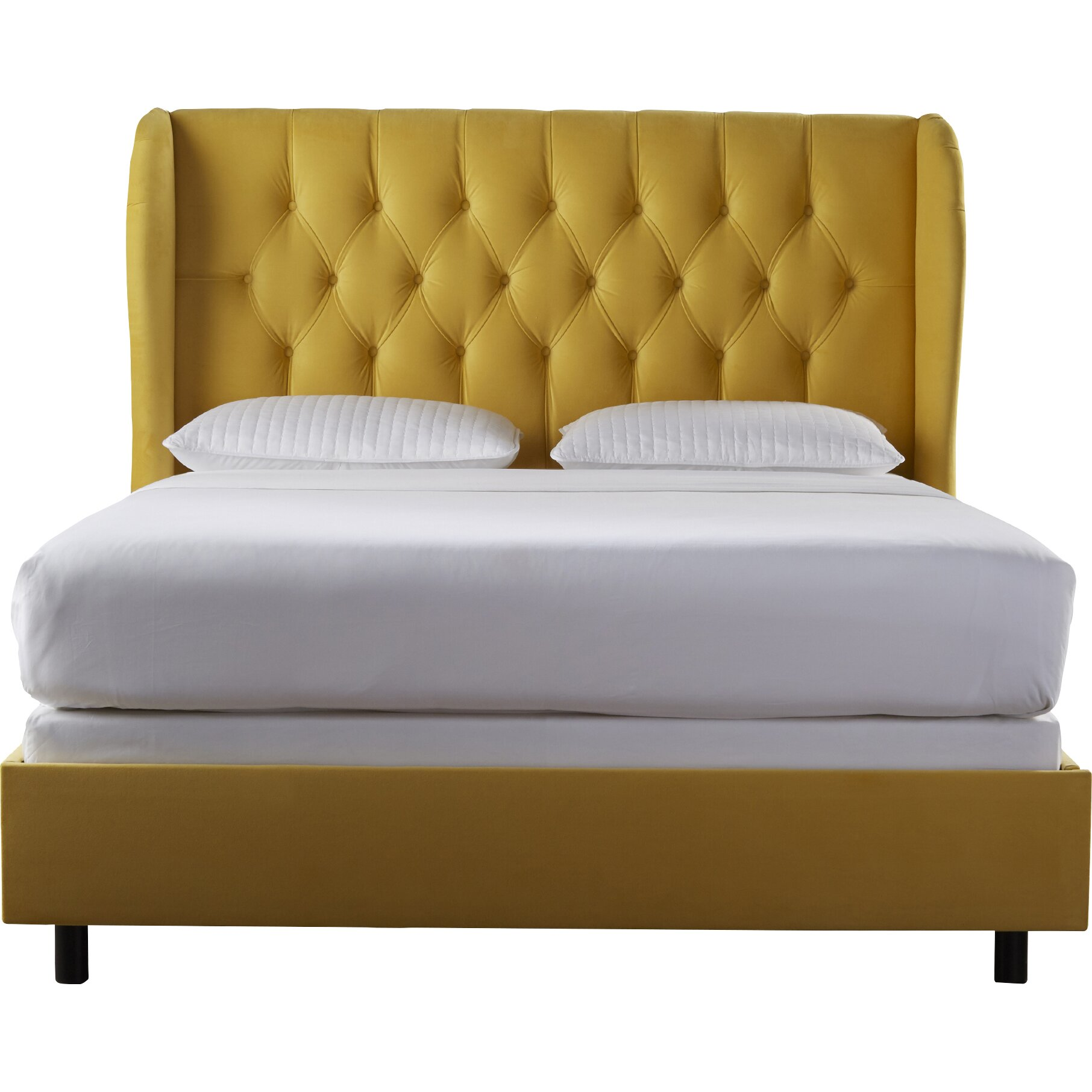 Upholstered Wingback Bed By House Of Hampton