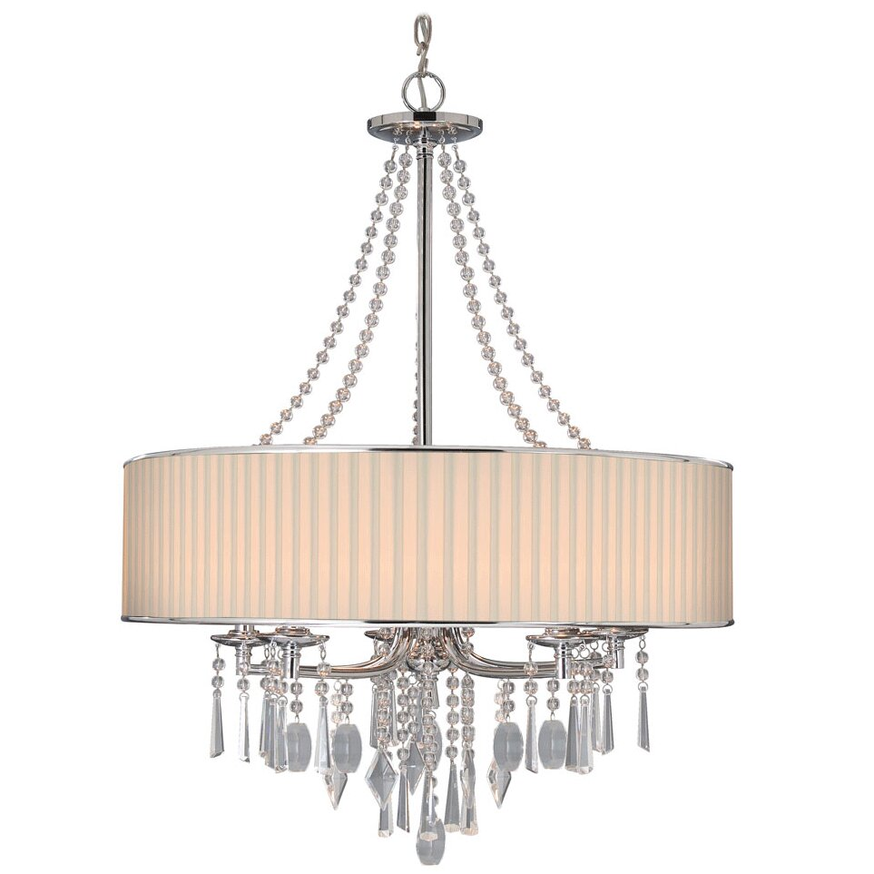 House Of Hampton Custinne 5 Light Drum Chandelier