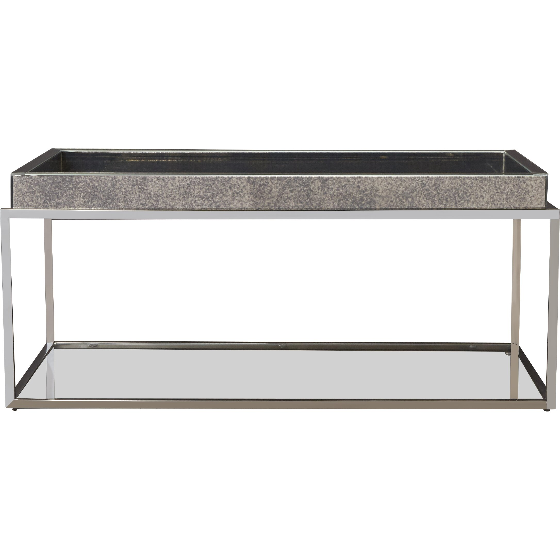 Coffee Table With Tray Top: House Of Hampton Ramillies Coffee Table With Tray Top