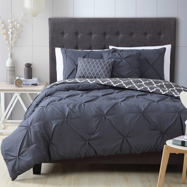 House of hampton douglas 5 piece reversible comforter set for House of hampton bedding