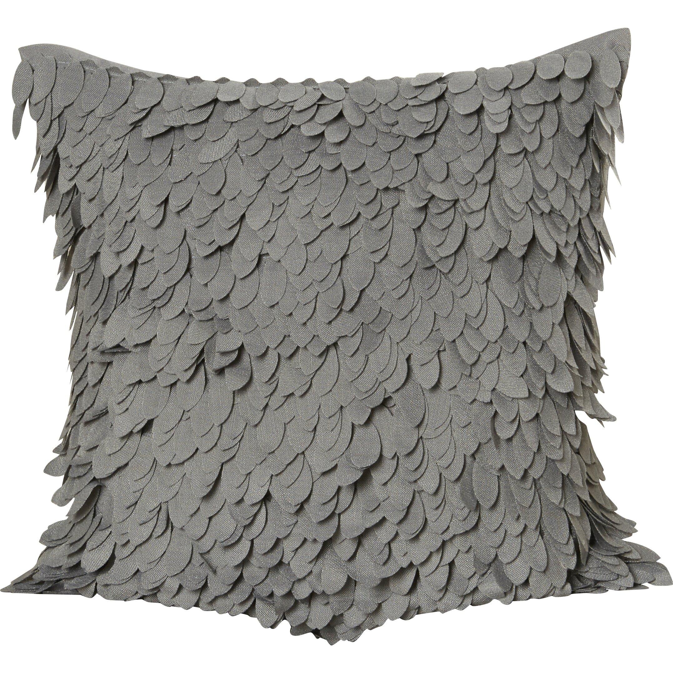 Throw Pillows Ruffle : House of Hampton Luanna Ruffle Throw Pillow & Reviews Wayfair