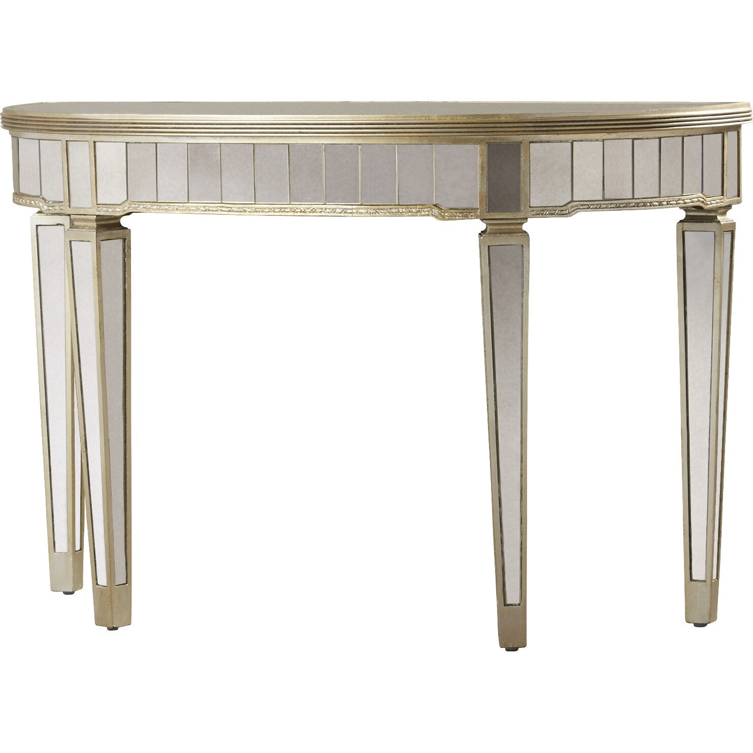 House Of Hampton Sandbach Mirrored Console Table In