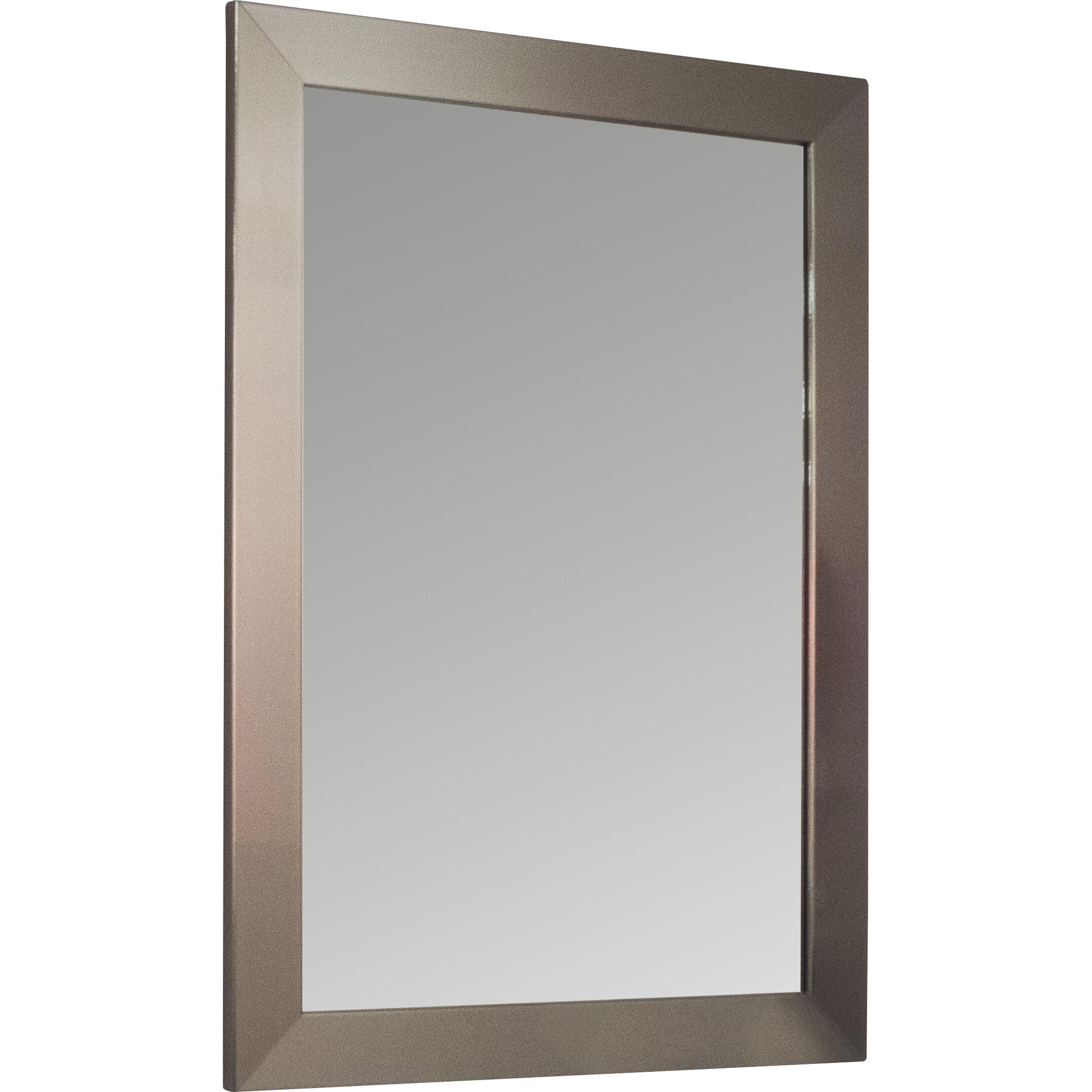 House of hampton beveled wall mirror reviews wayfair for Beveled wall mirror