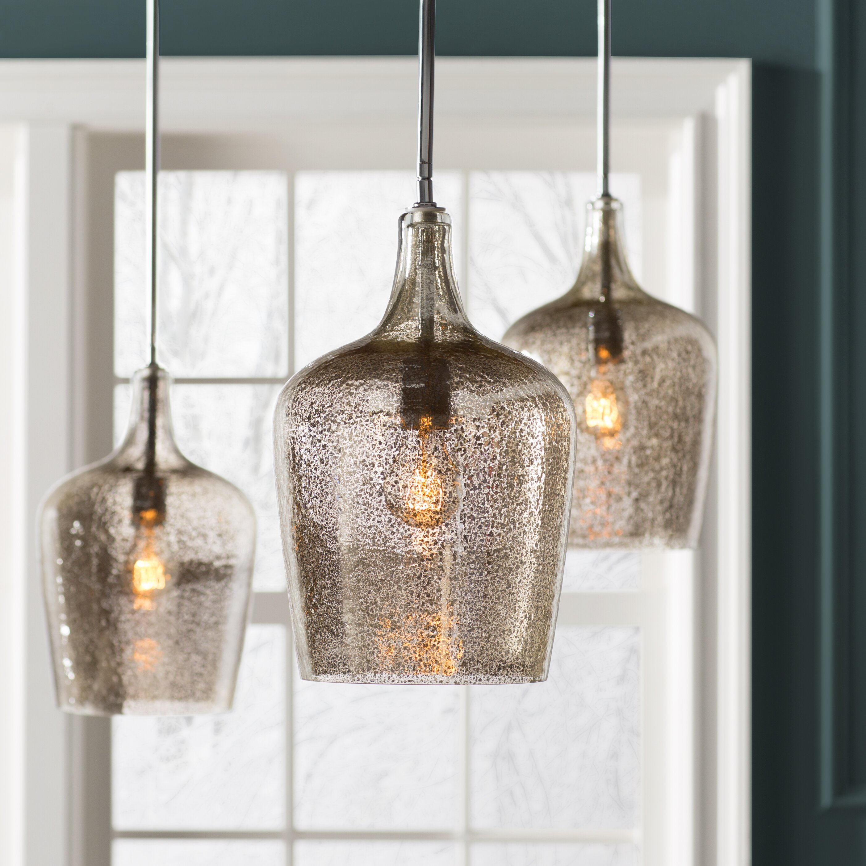Wayfair Lights: House Of Hampton Marguerite 1 Light Pendant & Reviews