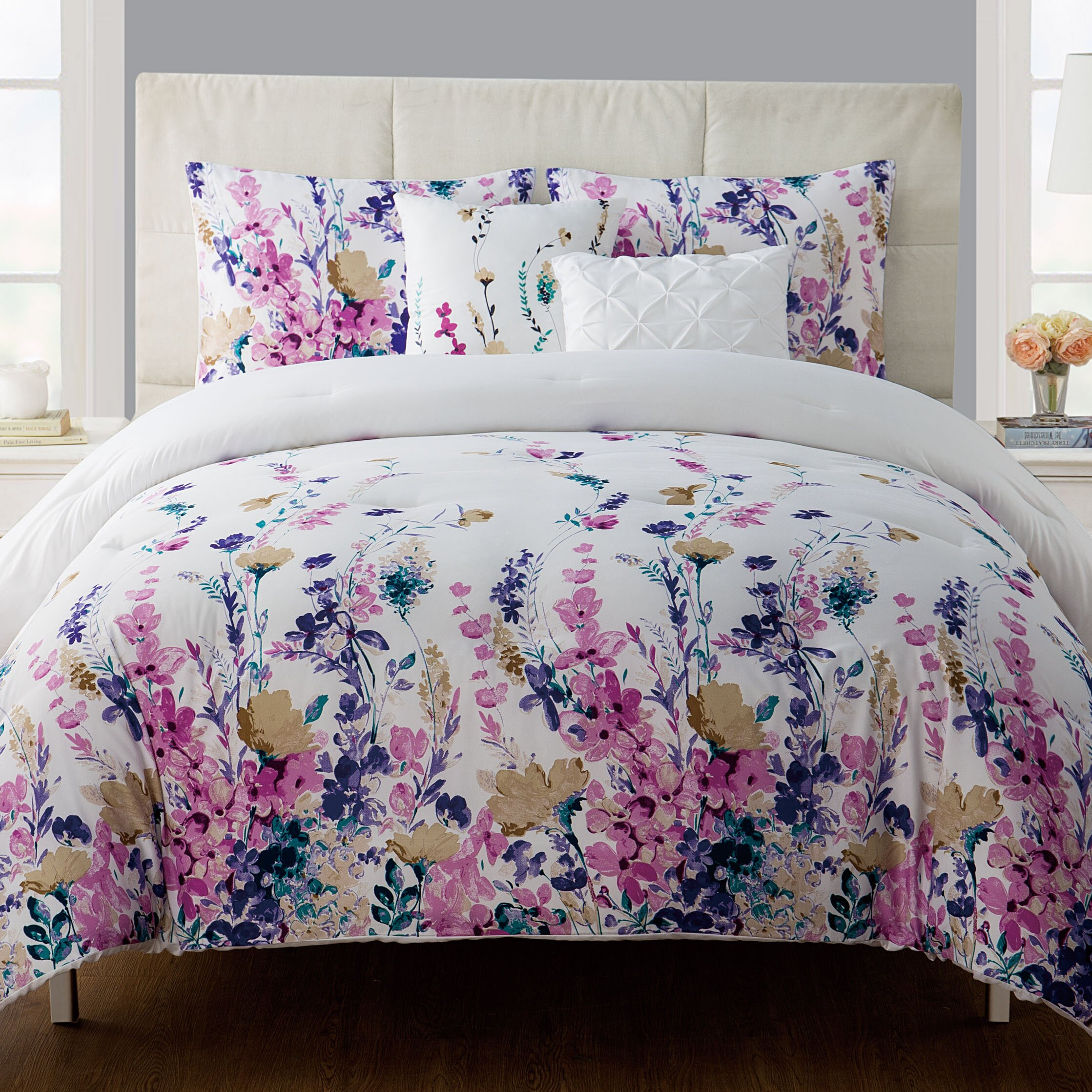 House Of Hampton Pressly 5 Piece Comforter Set Amp Reviews