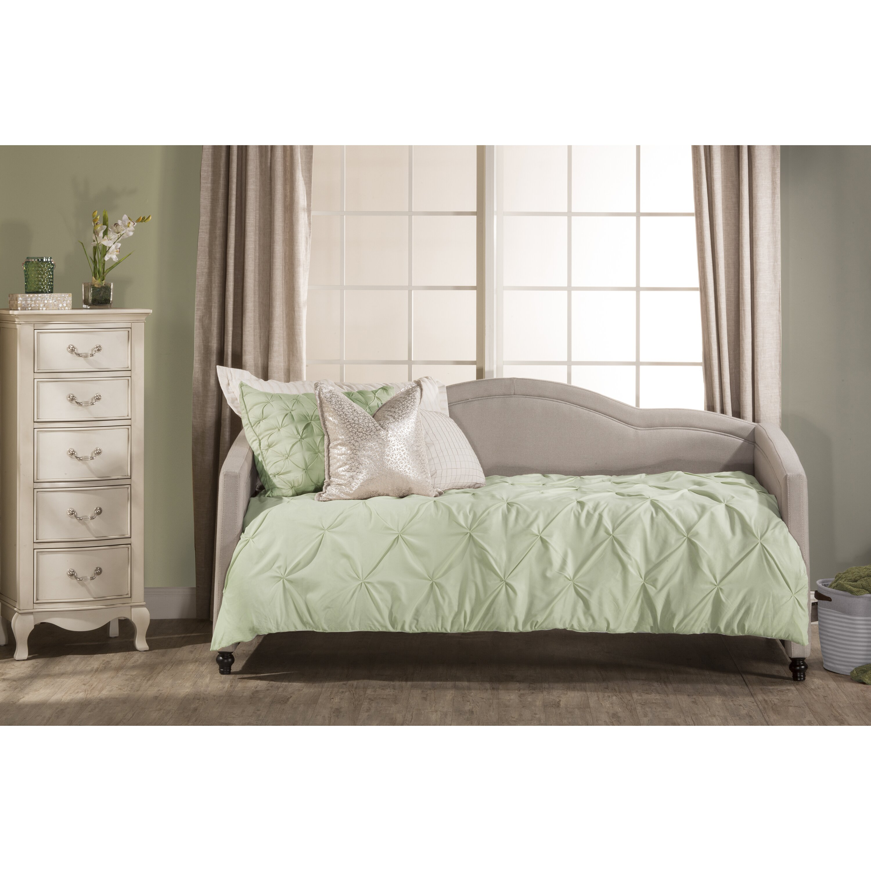 House Of Hampton Balmer Upholstered Daybed Wayfair