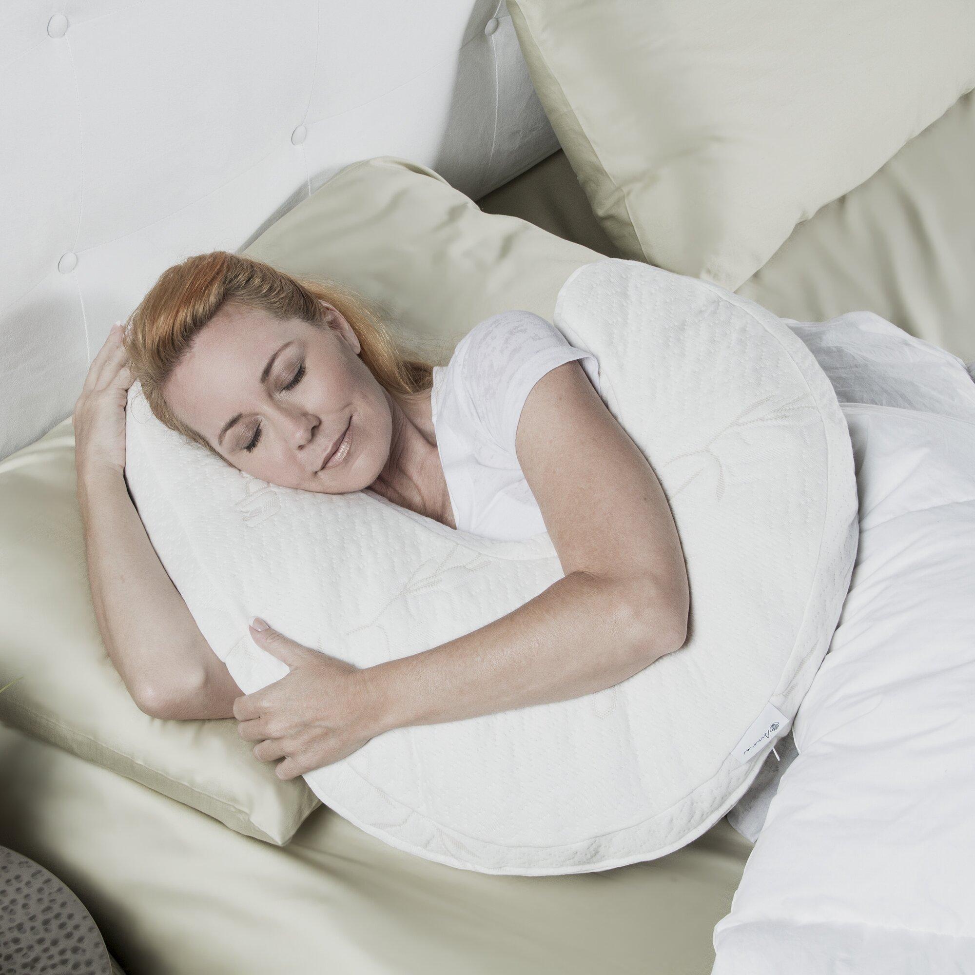 avana uno side sleeper memory foam pillow reviews wayfair. Black Bedroom Furniture Sets. Home Design Ideas