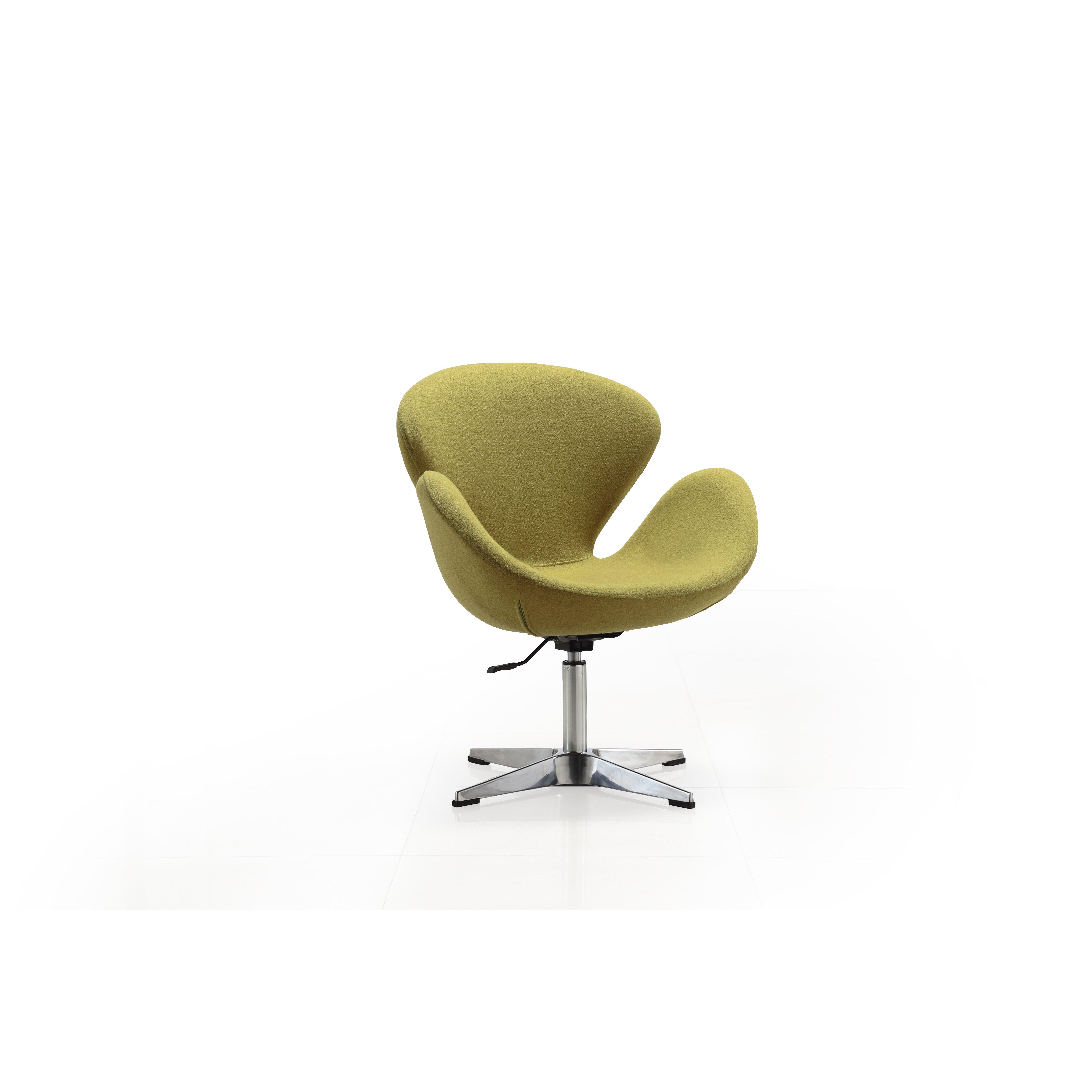 Swan Swivel Chair Ceets Arm Reviews Wayfair