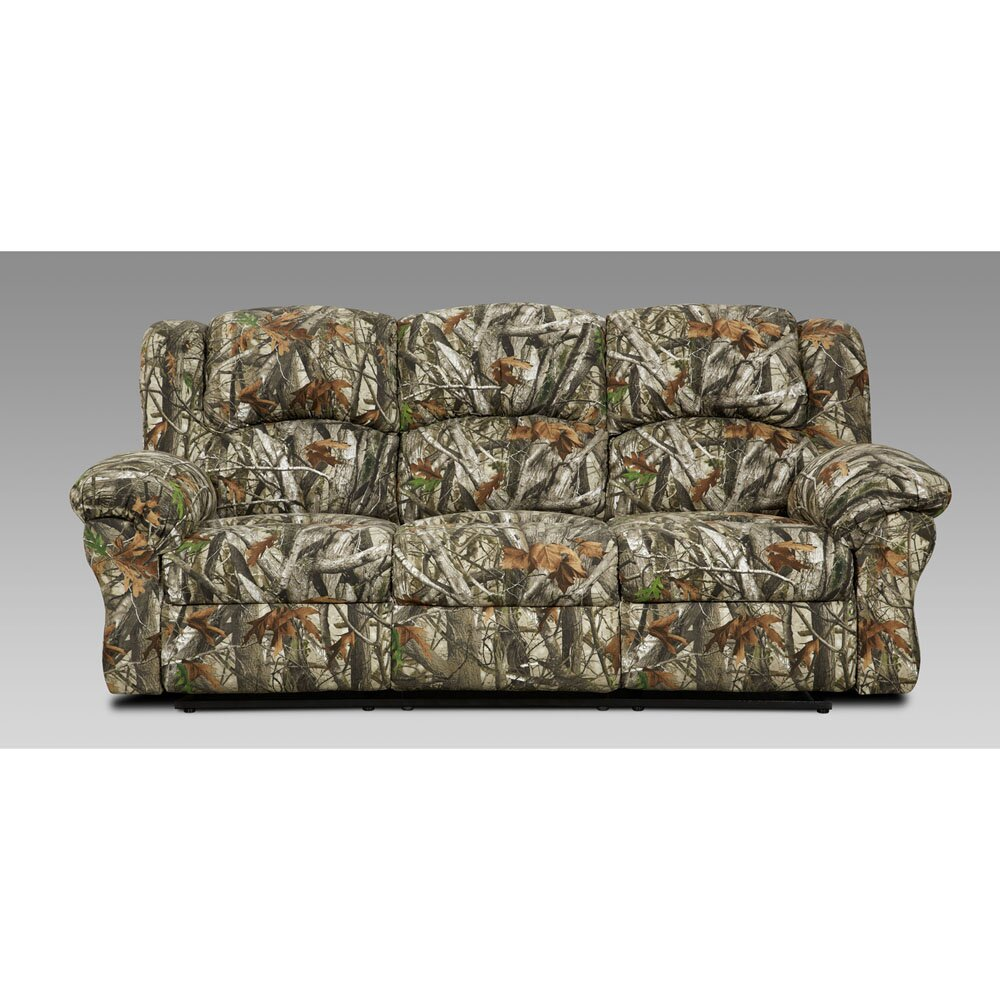 Cambridge Camo Double Reclining Sofa Wayfair