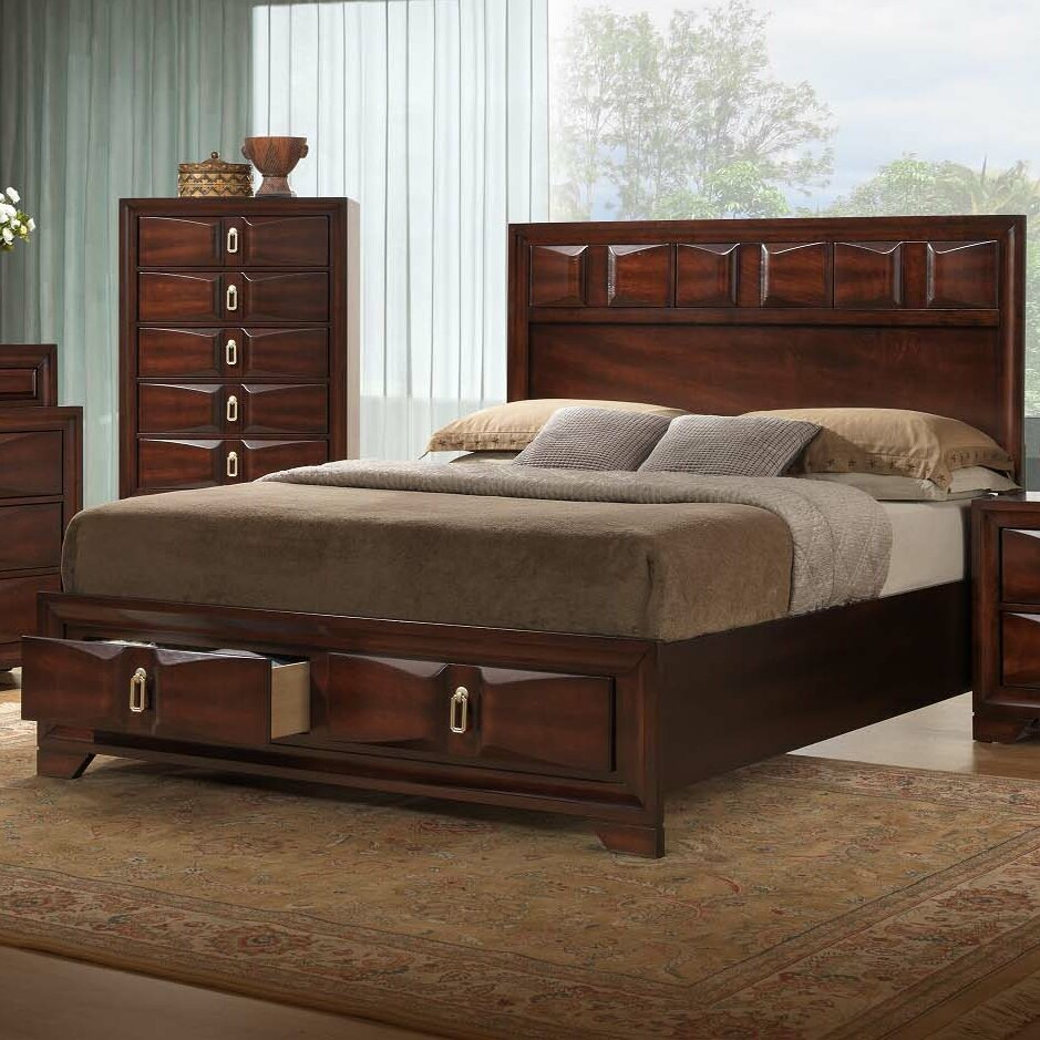 Simmons Casegoods Roswell Panel Customizable Bedroom Set