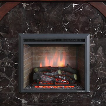 Puraflame 33 Quot Black 750 1500w Western Wall Mount Electric