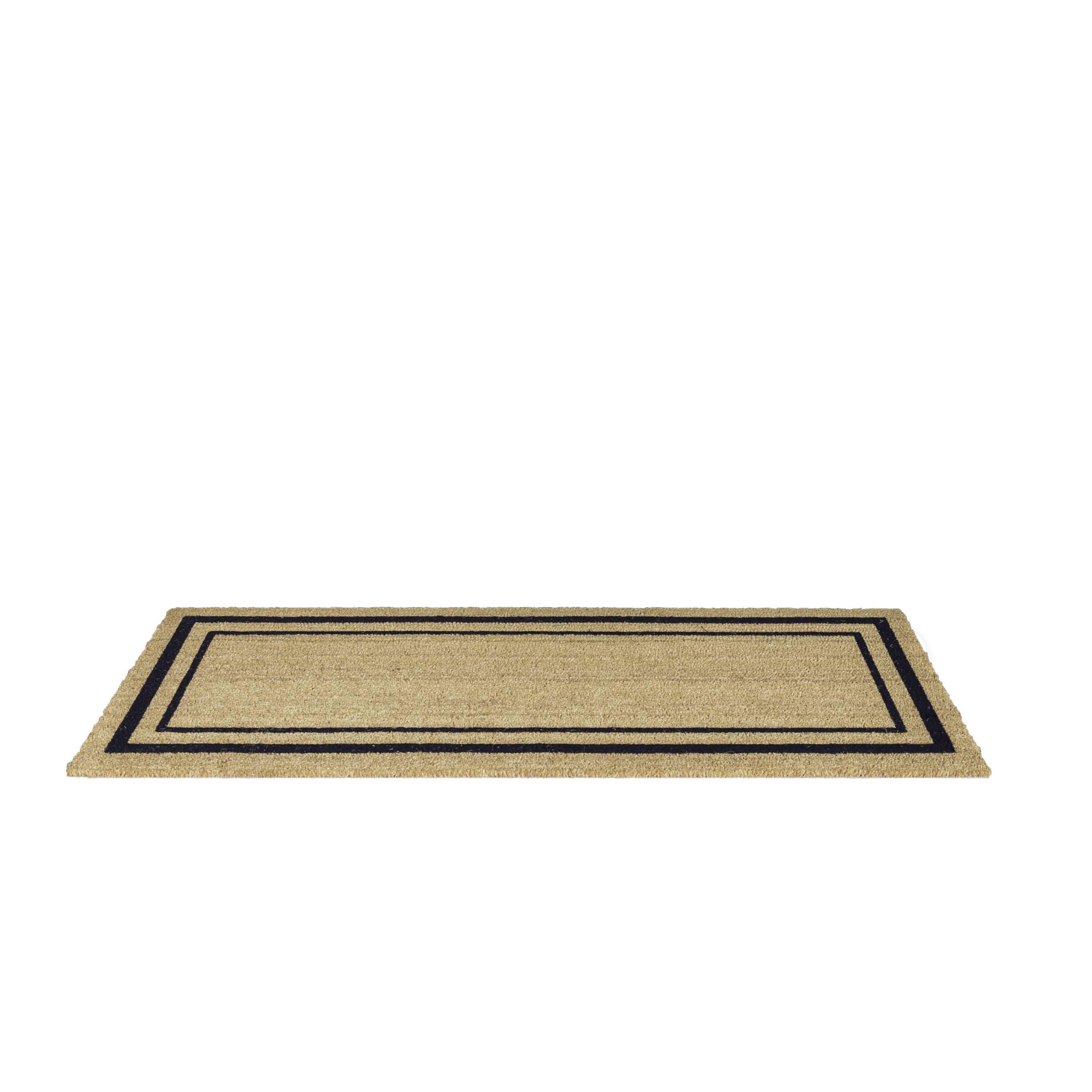 Us Cocoa Mat Decoir Classic Border Double Door Doormat