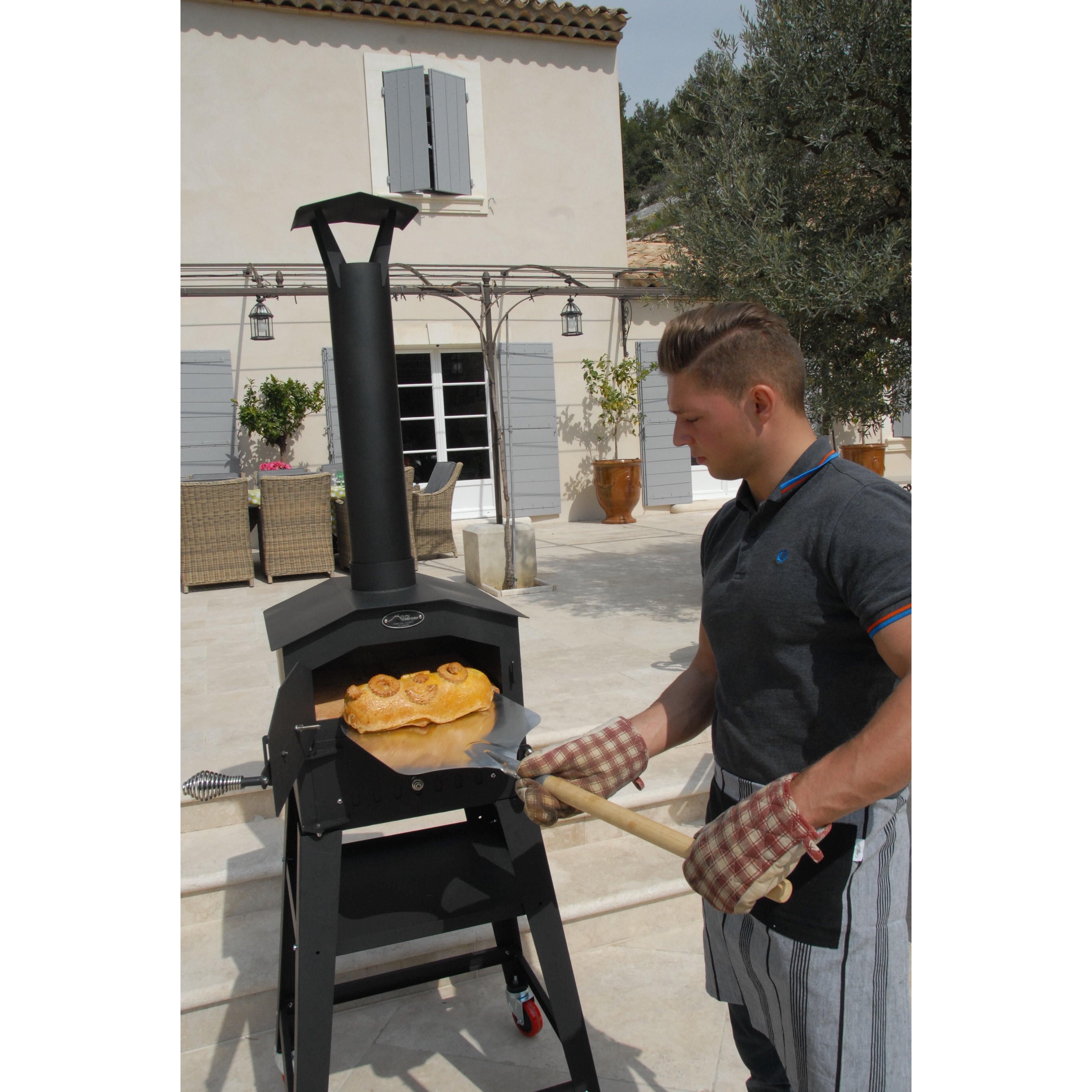 l 39 art du jardin outdoor wood fired ovens napoli authentic. Black Bedroom Furniture Sets. Home Design Ideas