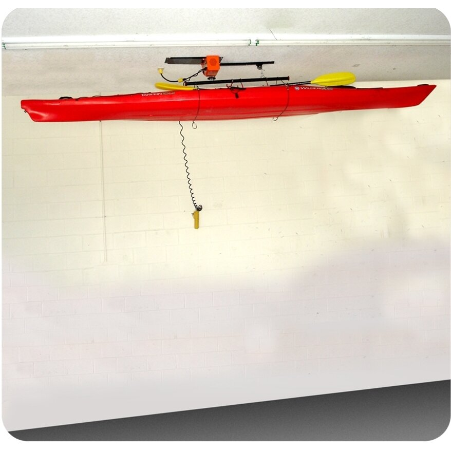 Garagegator Motorized Storage Hoist Ceiling Mounted Bike