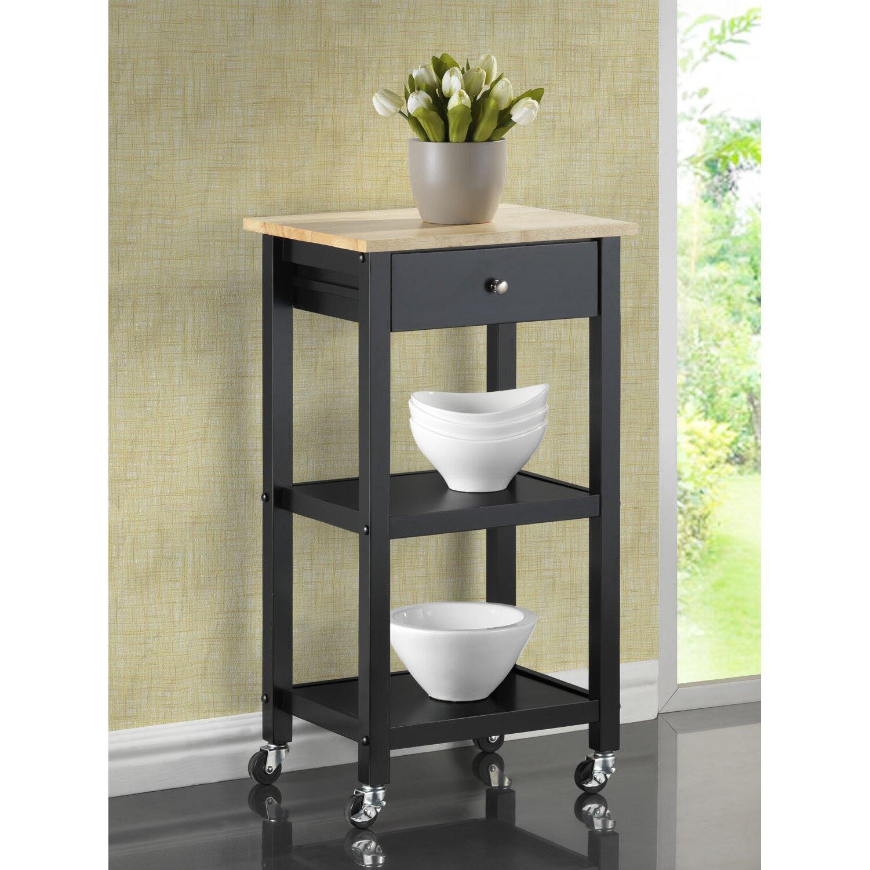 Roundhill Furniture Kitchen Cart Amp Reviews Wayfair