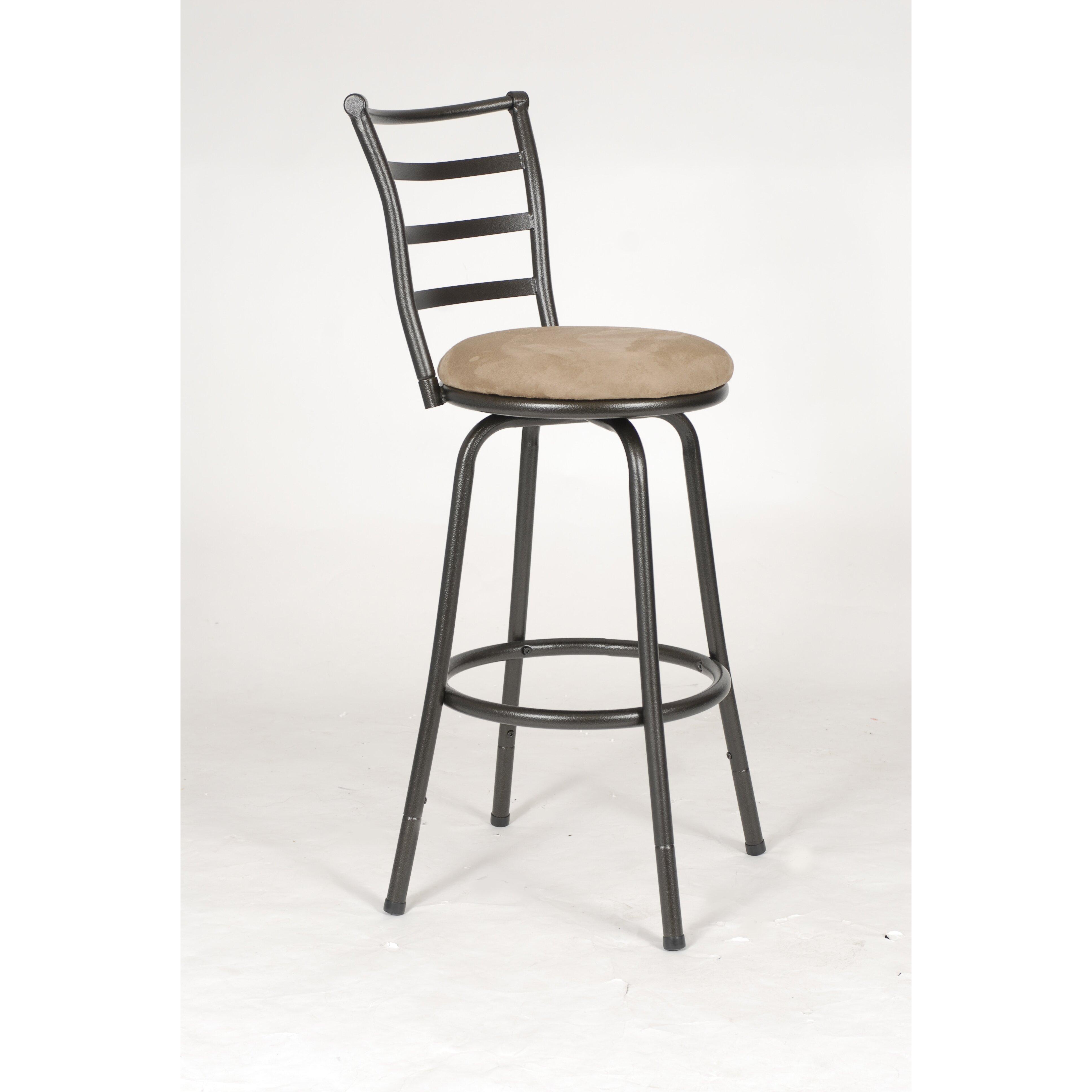 Roundhill Furniture Swivel Bar Stool Amp Reviews Wayfair