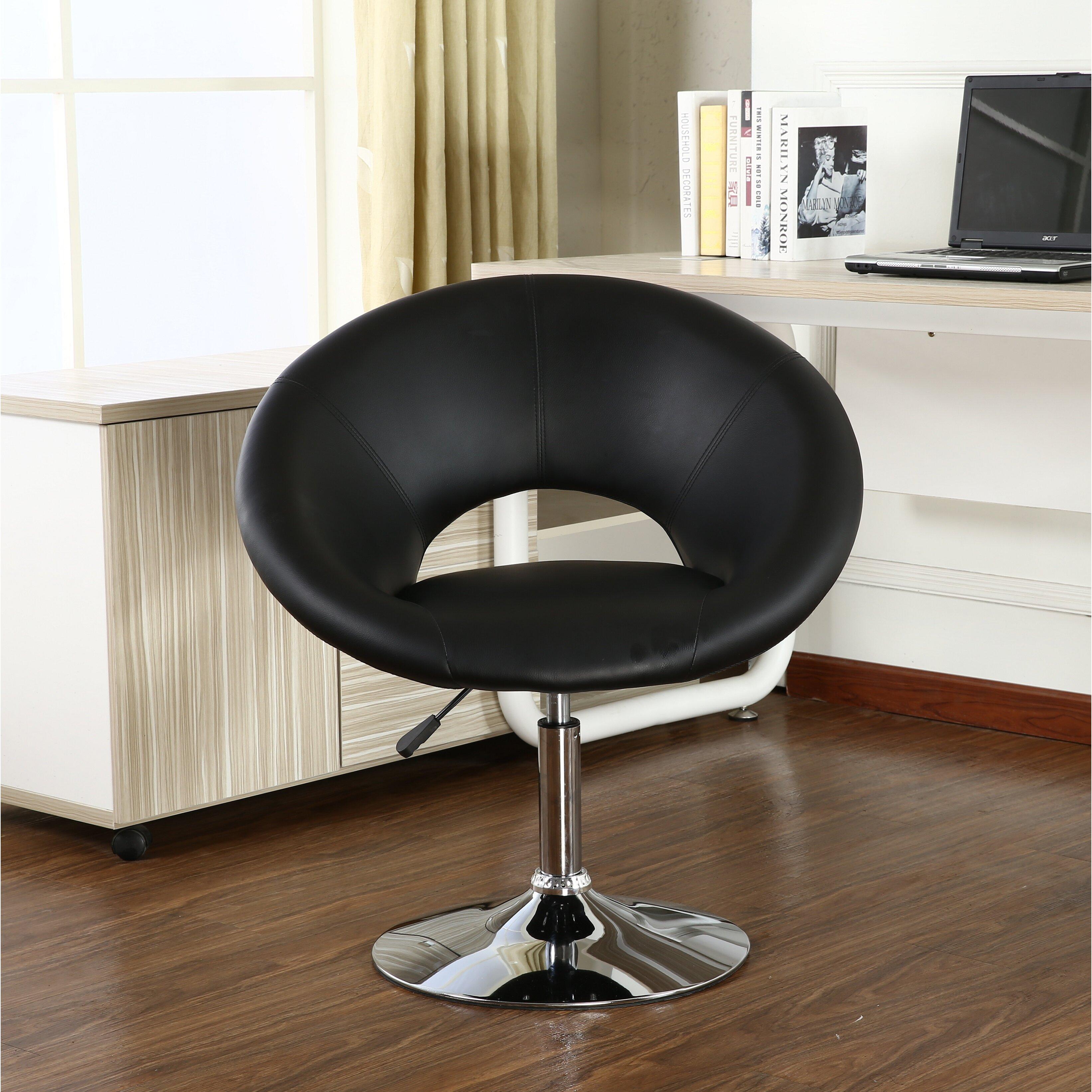 Roundhill Furniture Contemporary Adjustable Swivel Papasan