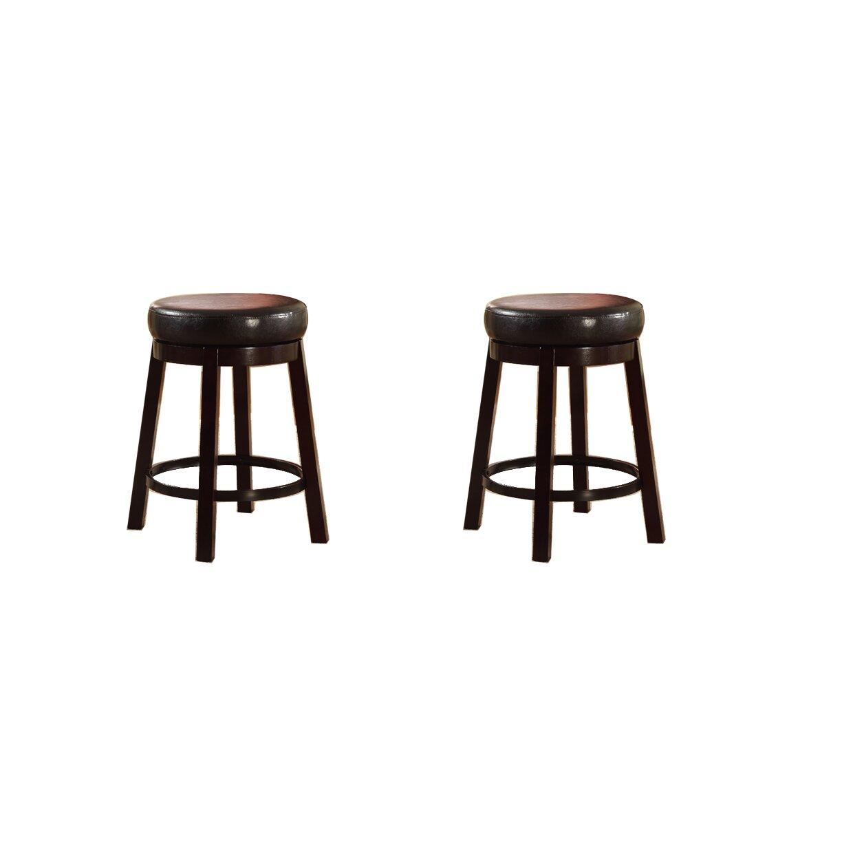 Roundhill Furniture 24 Quot Swivel Bar Stool Amp Reviews Wayfair