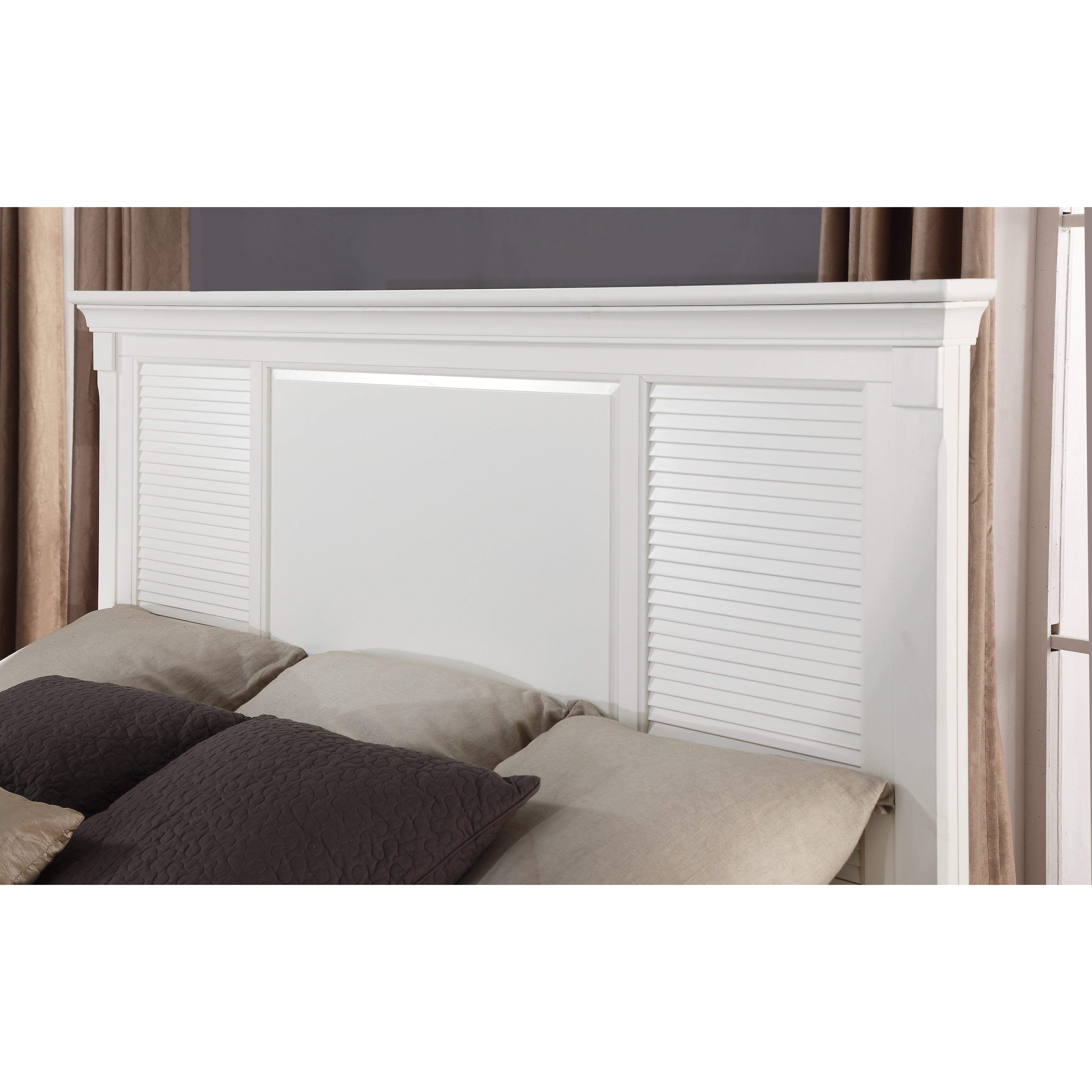 roundhill furniture regitina panel 5 piece bedroom set wayfair