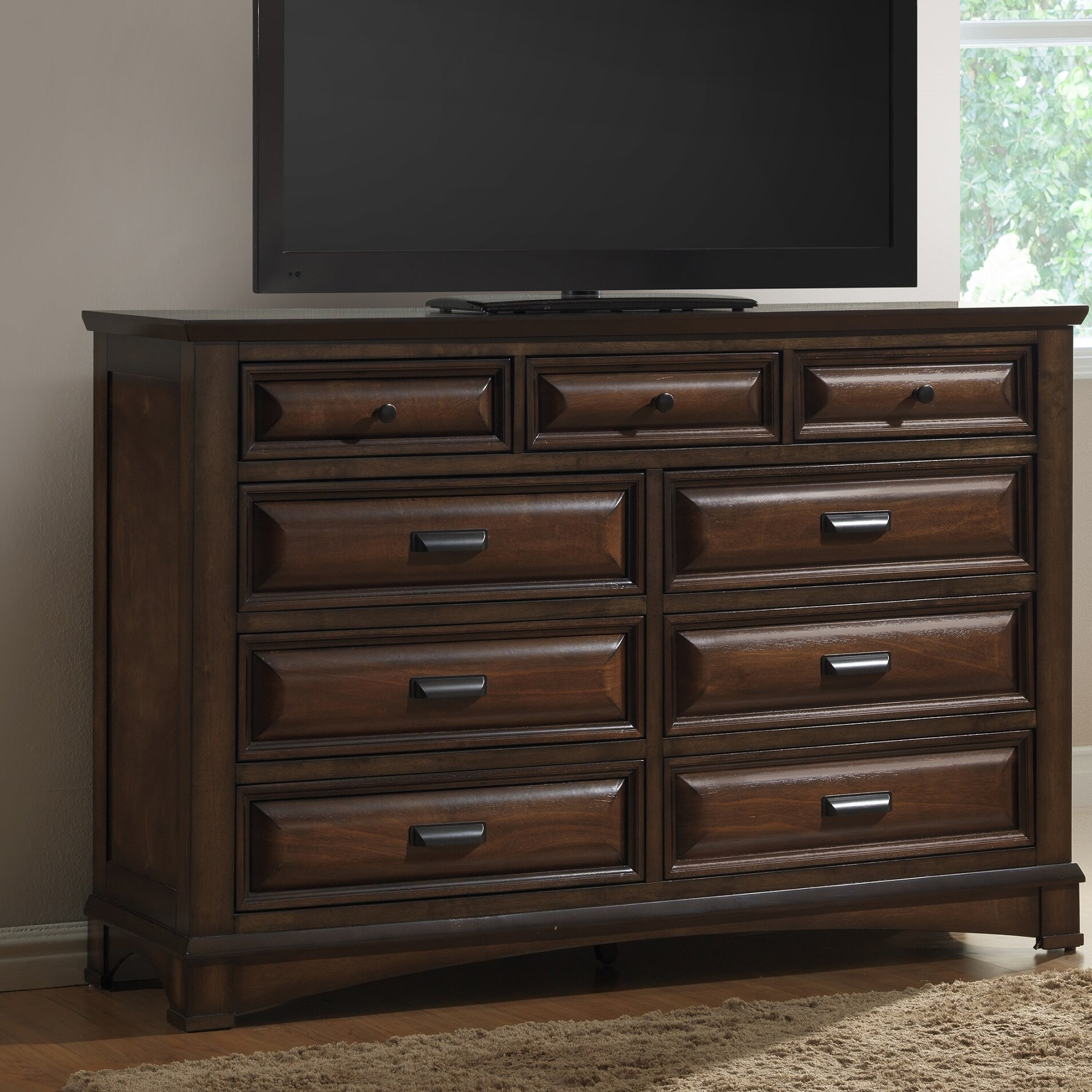 Roundhill Furniture Broval Platform 5 Piece Bedroom Set Wayfair