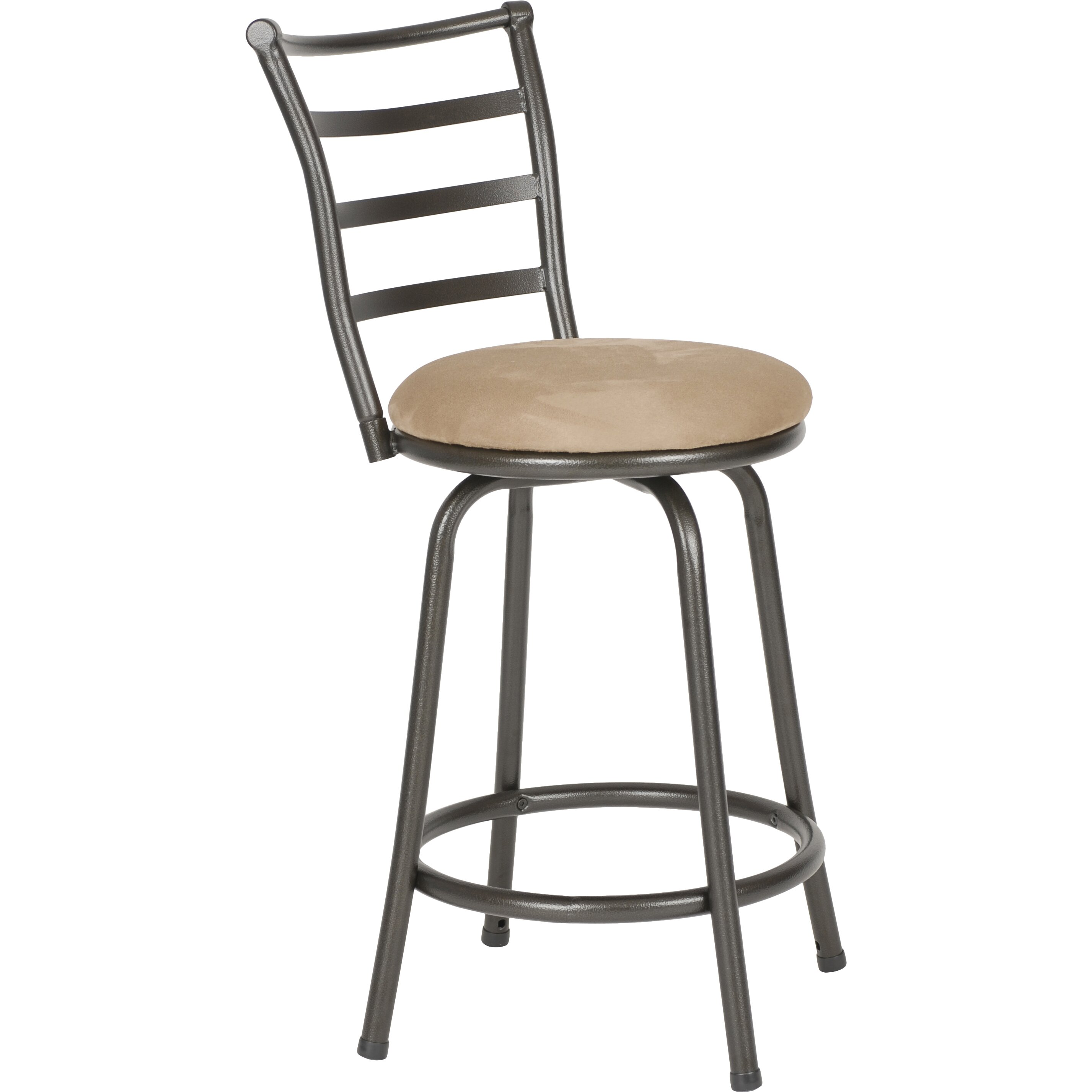 Roundhill Furniture Swivel Bar Stool Amp Reviews Wayfair