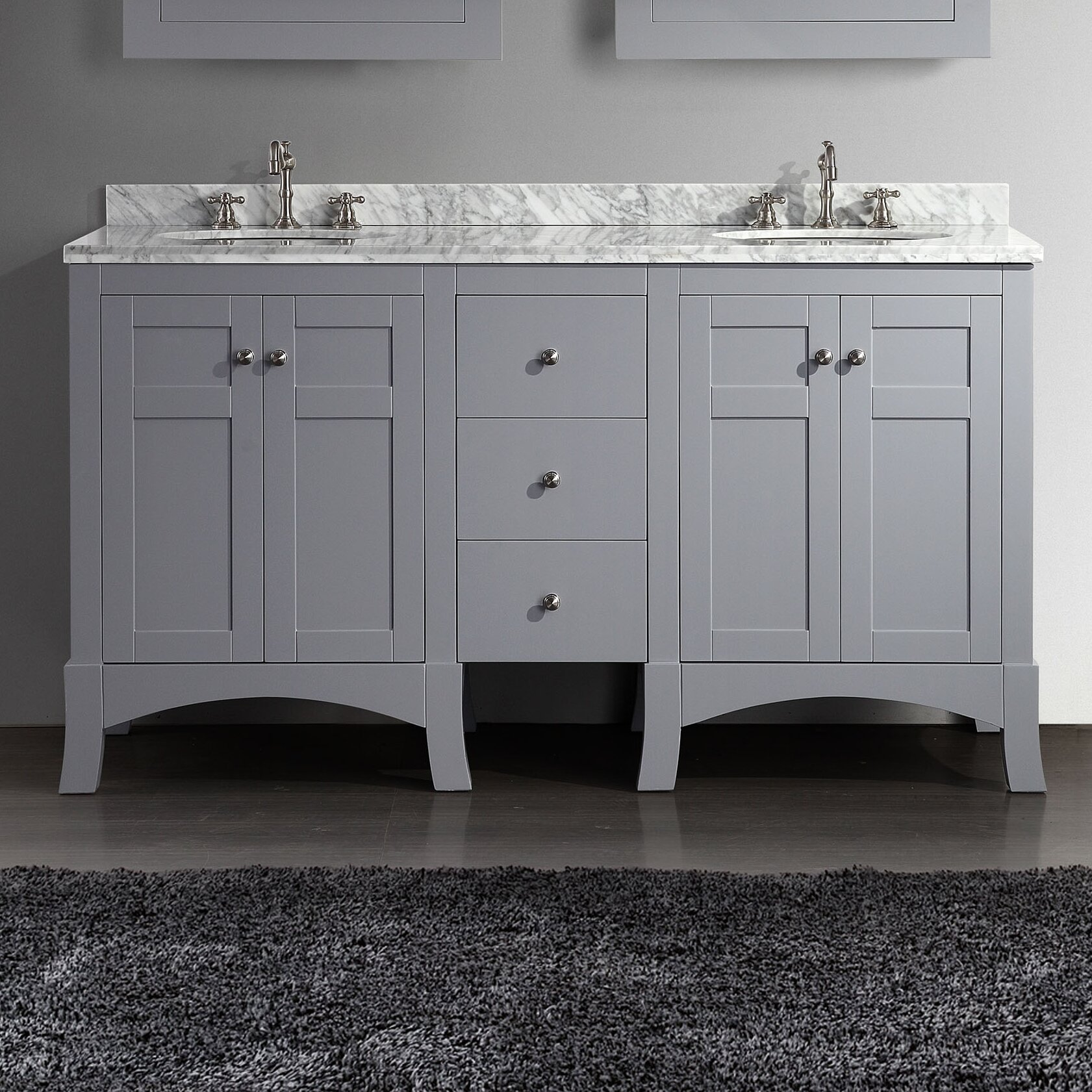 Unique Home  BATH  Bathroom Vanities  New York 24 Inch Vanity Set