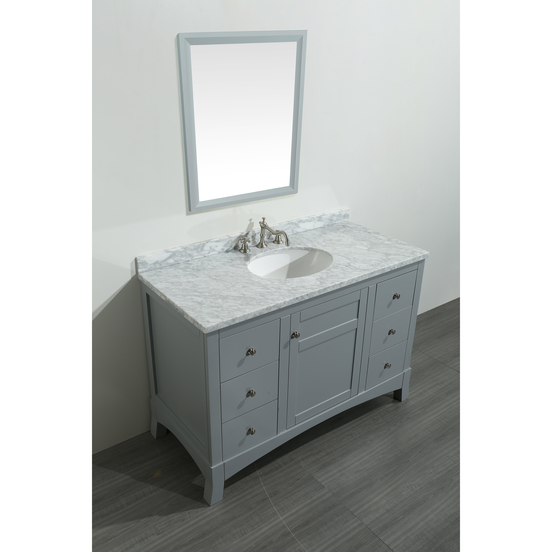 Eviva New York 49 5 Single Bathroom Vanity Set Wayfair