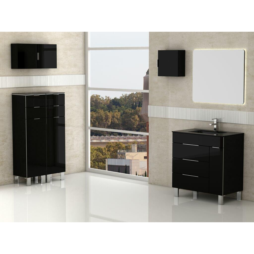 """Eviva Geminis 28"""" Single Modern Bathroom Vanity Set"""
