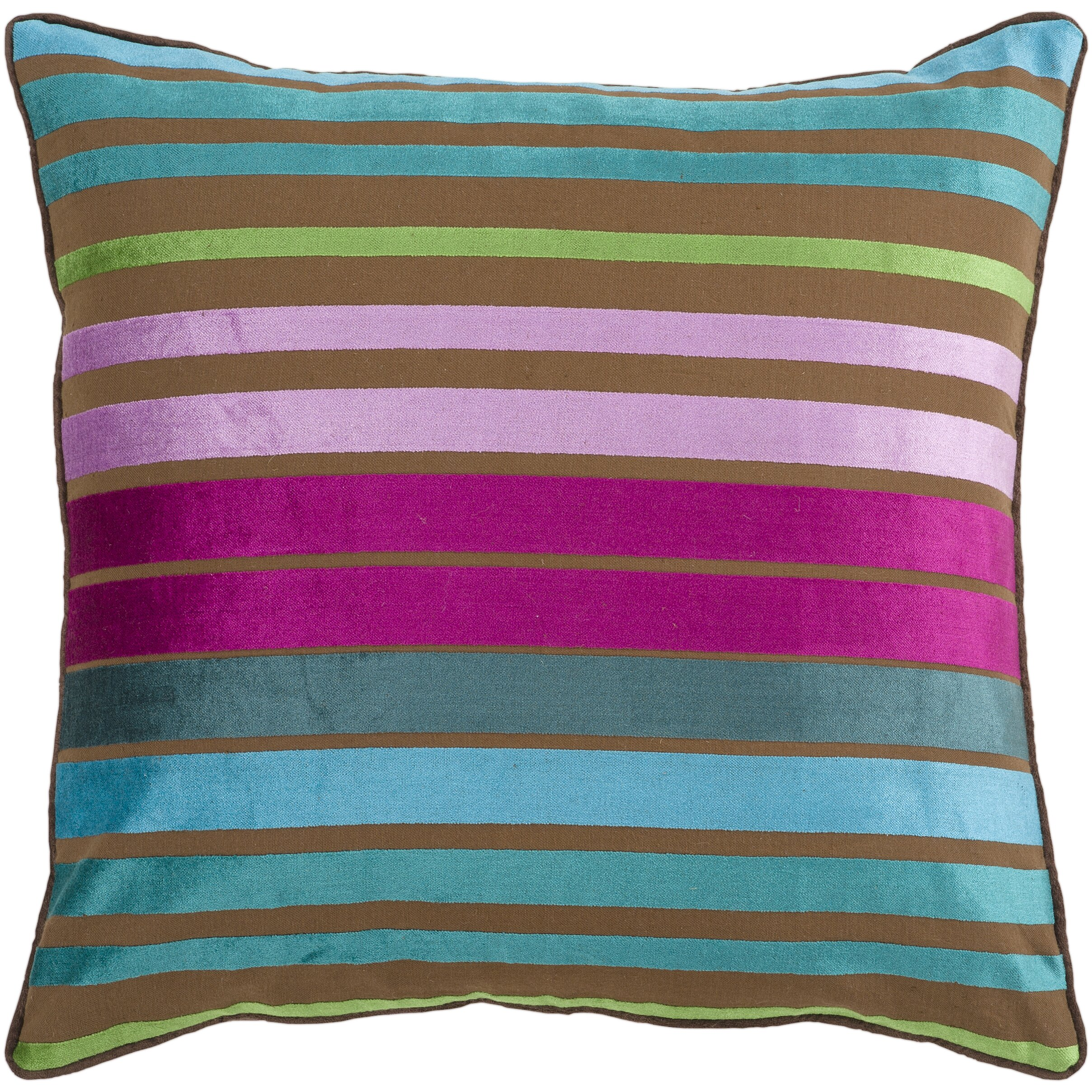 Bungalow Rose Radad Sparkling Stripe Throw Pillow & Reviews Wayfair