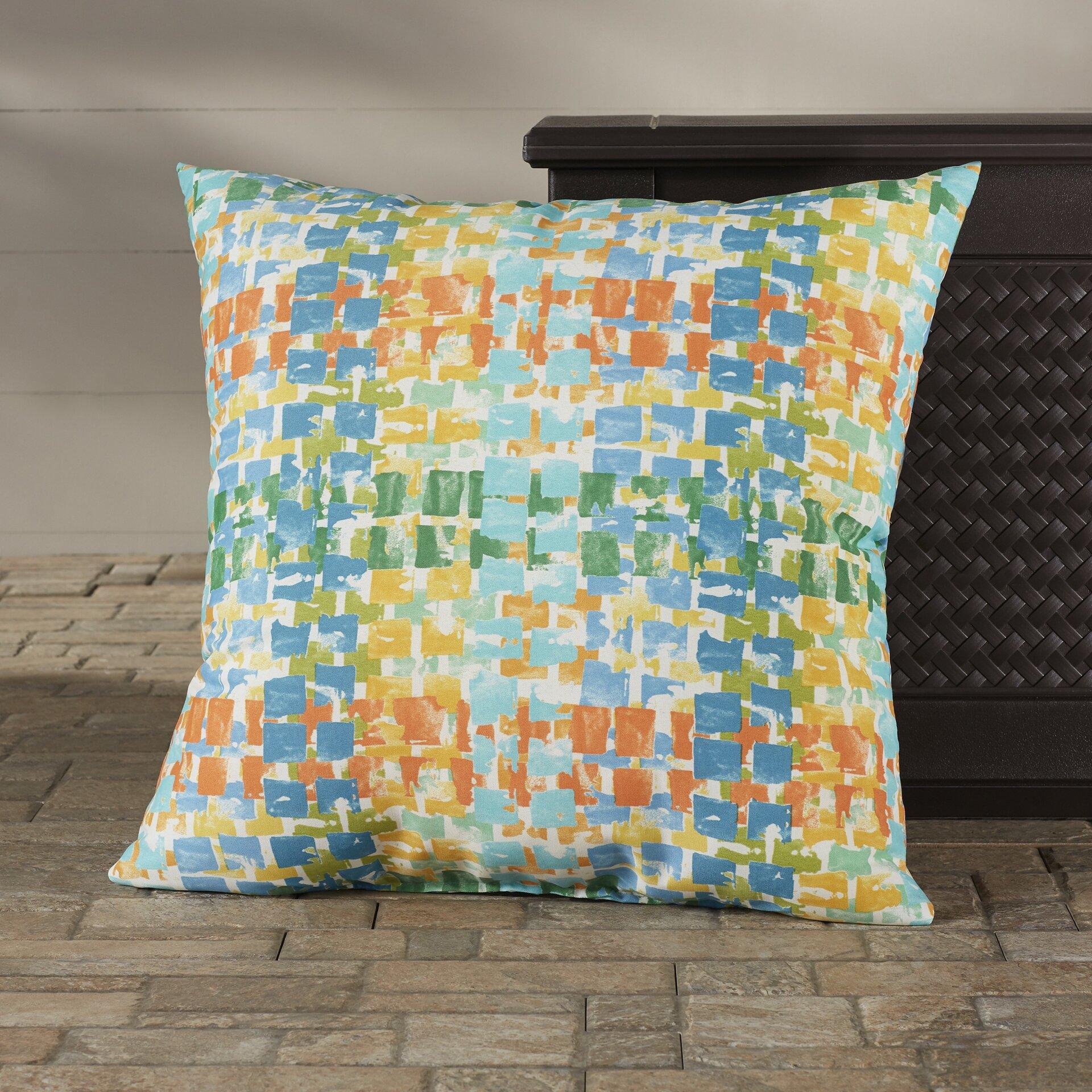 Bungalow Rose Momea Indoor/Outdoor Floor Pillow Wayfair