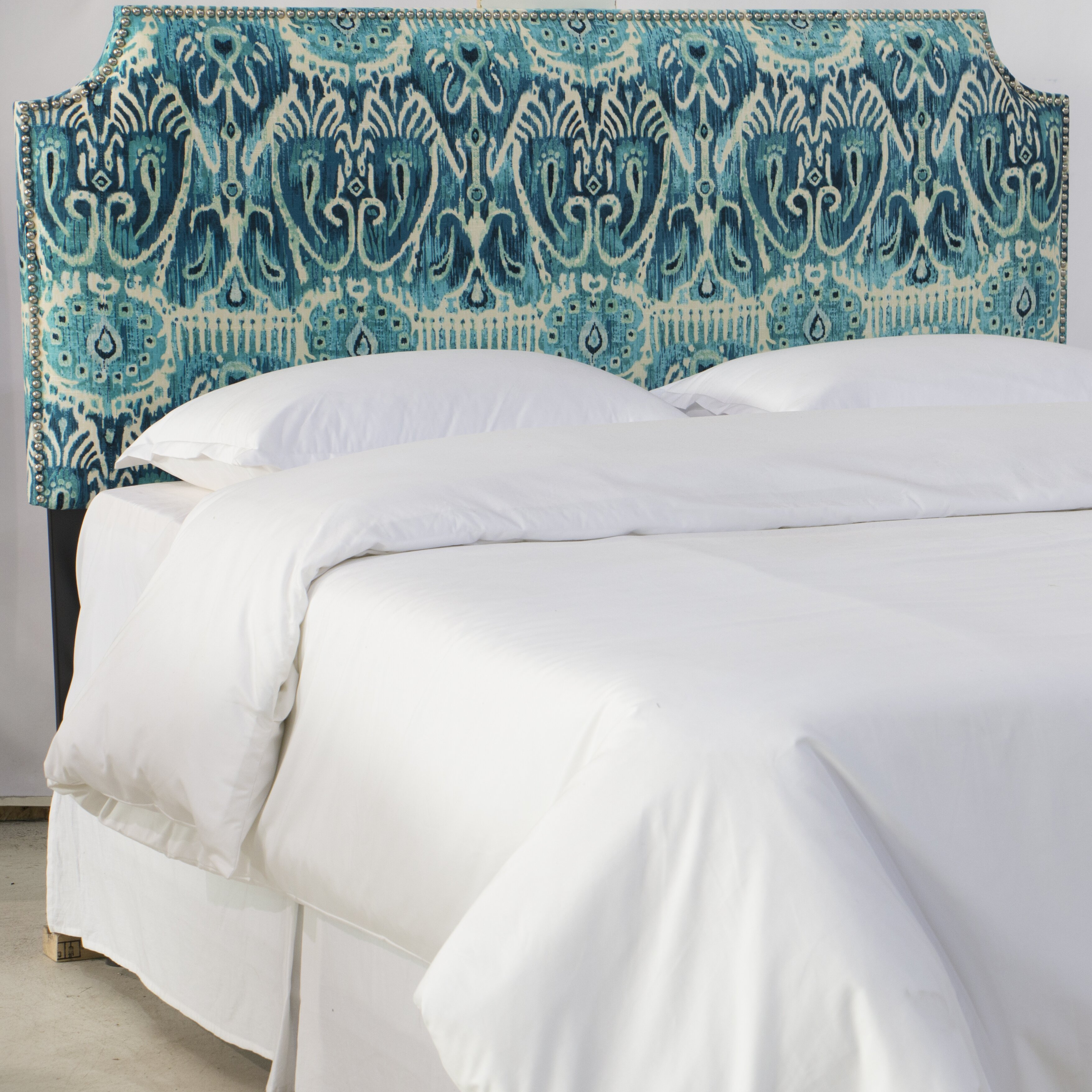 Wayfair custom upholstery melissa upholstered headboard reviews wayfair - Custom headboard ...