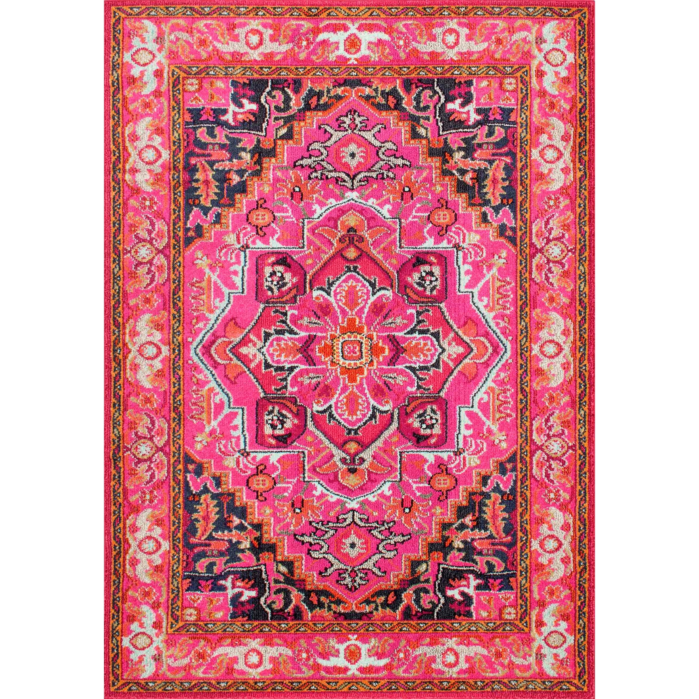 Bungalow Rose Sashi Pink Area Rug & Reviews