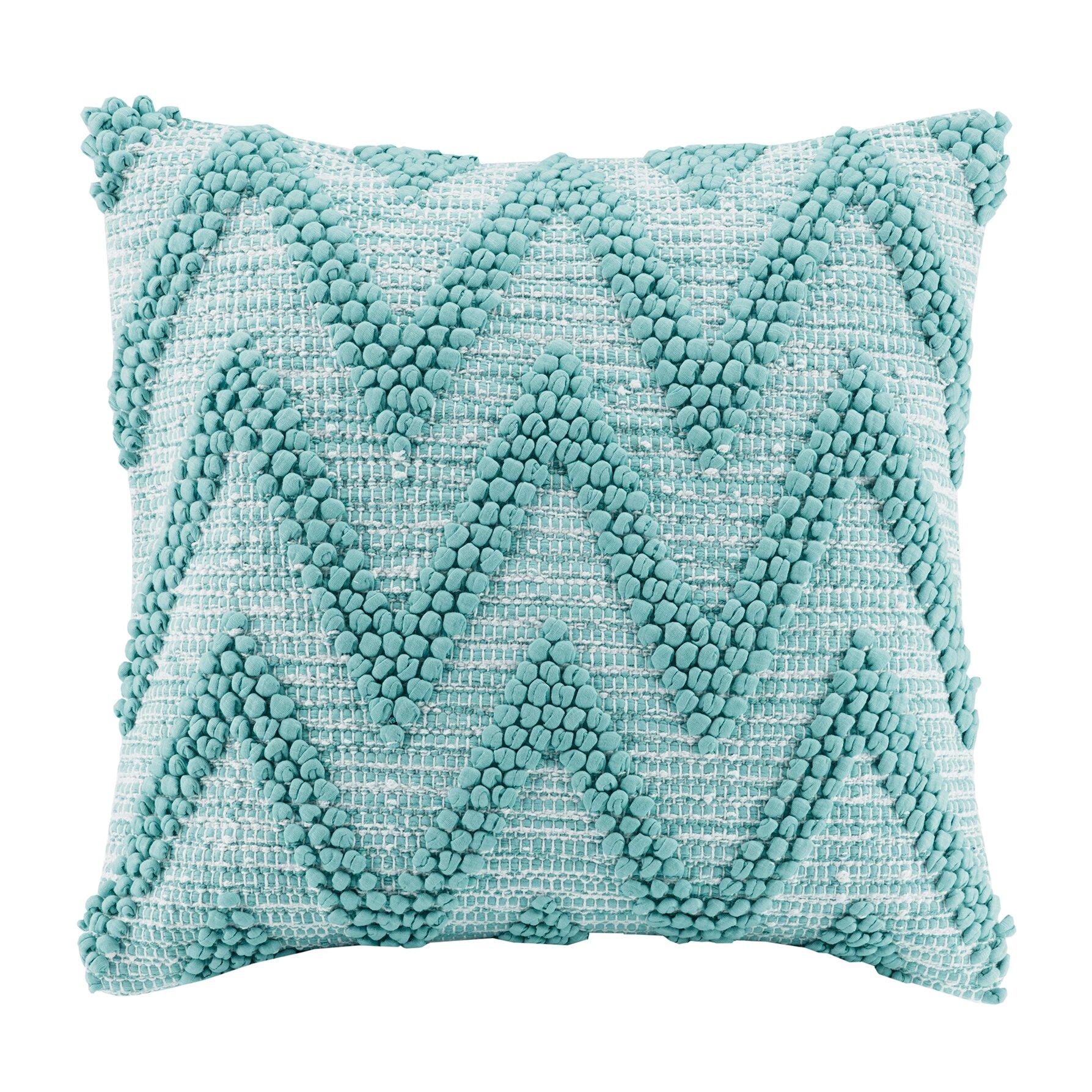 Bungalow Rose Azura Handloom Cotton Throw Pillow Amp Reviews
